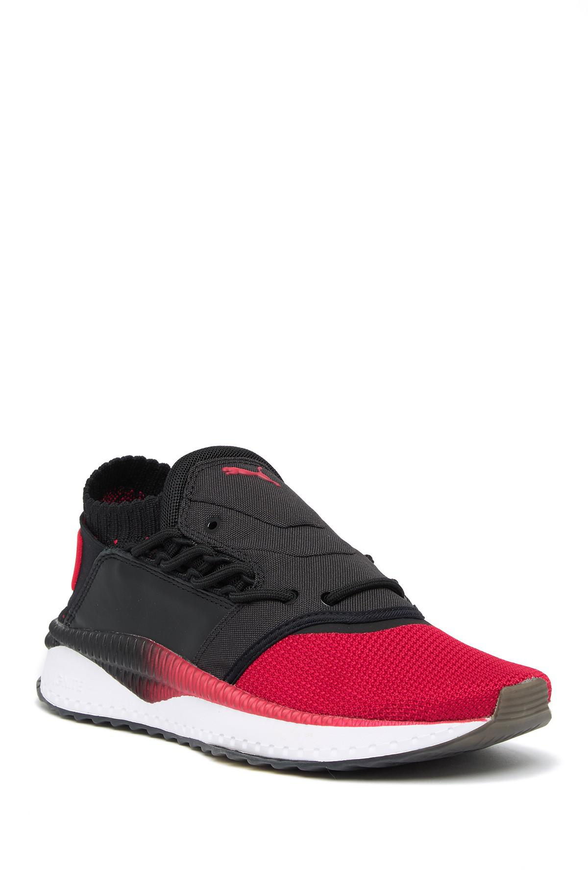 Lyst - PUMA Tsugi Shinsei Nido Athletic Leather Sneaker in Black for Men 11304f553