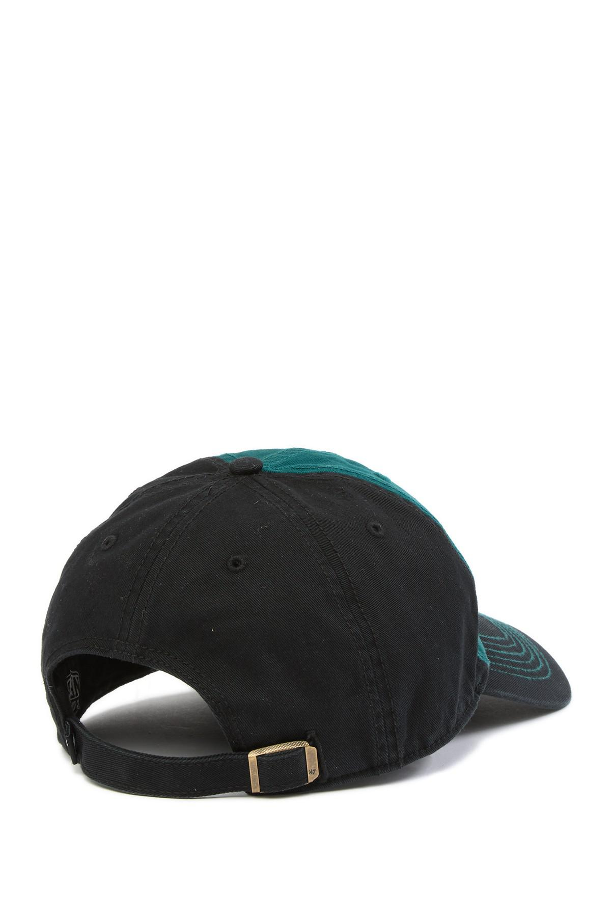 5c8285983cf 47 Brand - Black Nfl Philadelphia Eagles Mccarthy 47 Clean Up Cap for Men -  Lyst. View fullscreen