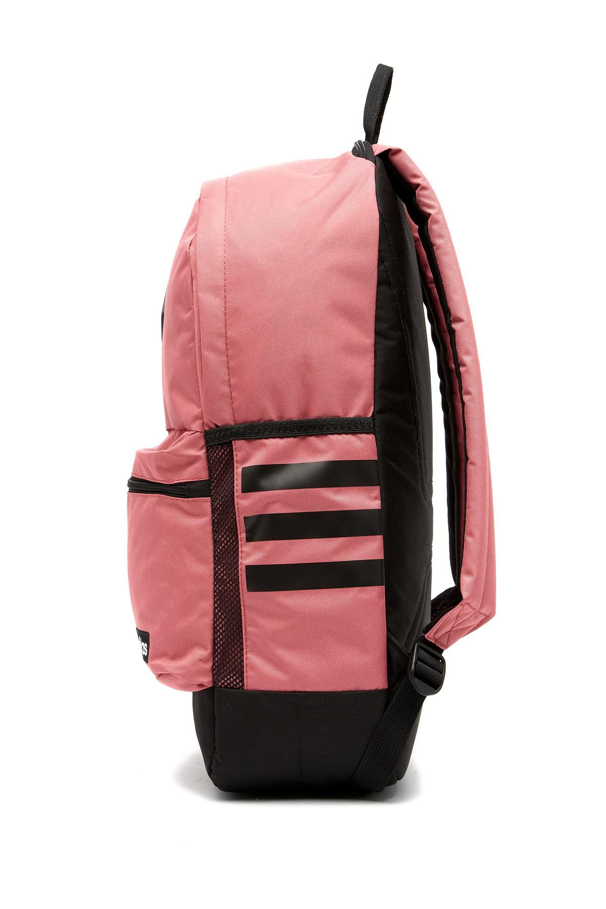 Lyst - adidas Classic 3s Ii Backpack in Pink for Men 35c02e9af5e37
