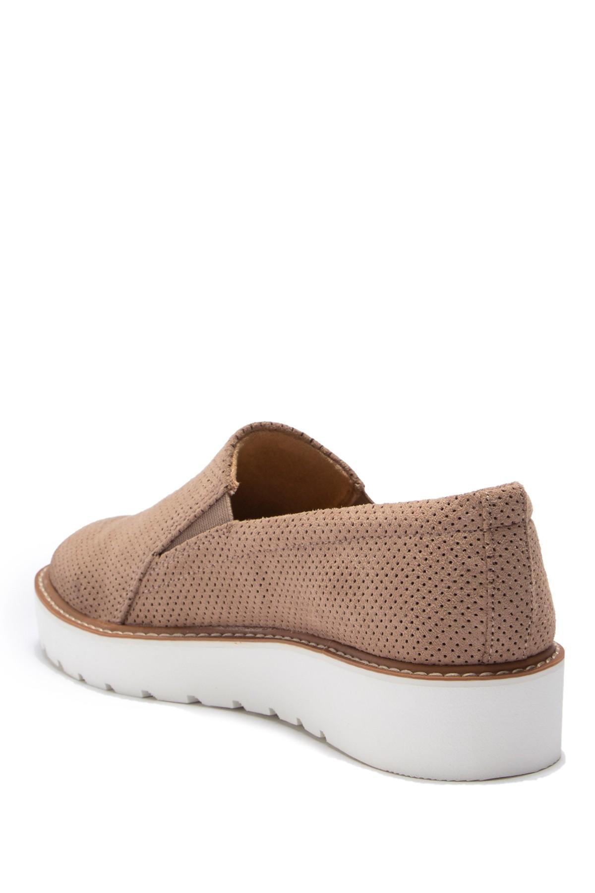 fe25c4effc49 Lyst - Naturalizer Effie Platform Perforated Slip-on Sneaker - Wide ...
