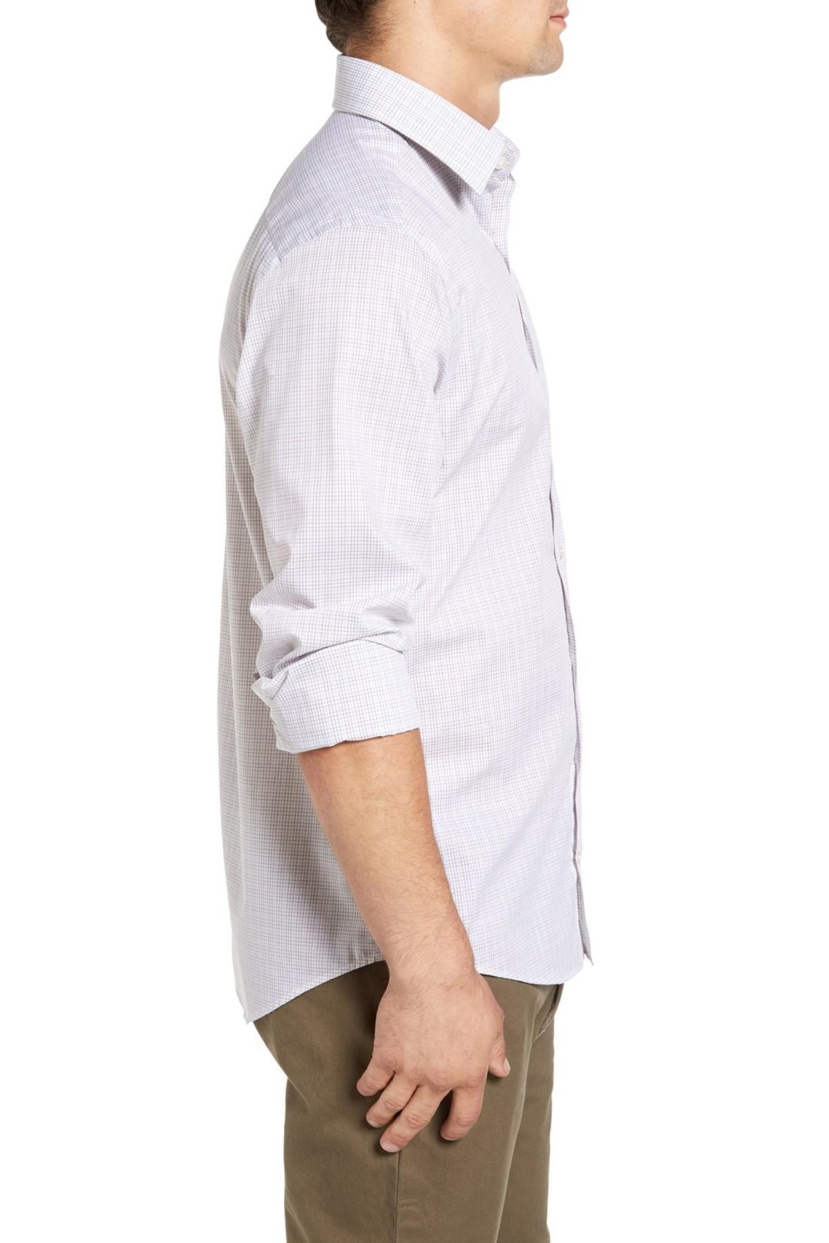 Lyst gant 39 royal oxford 39 extra trim fit tattersall sport for Extra trim fit dress shirt