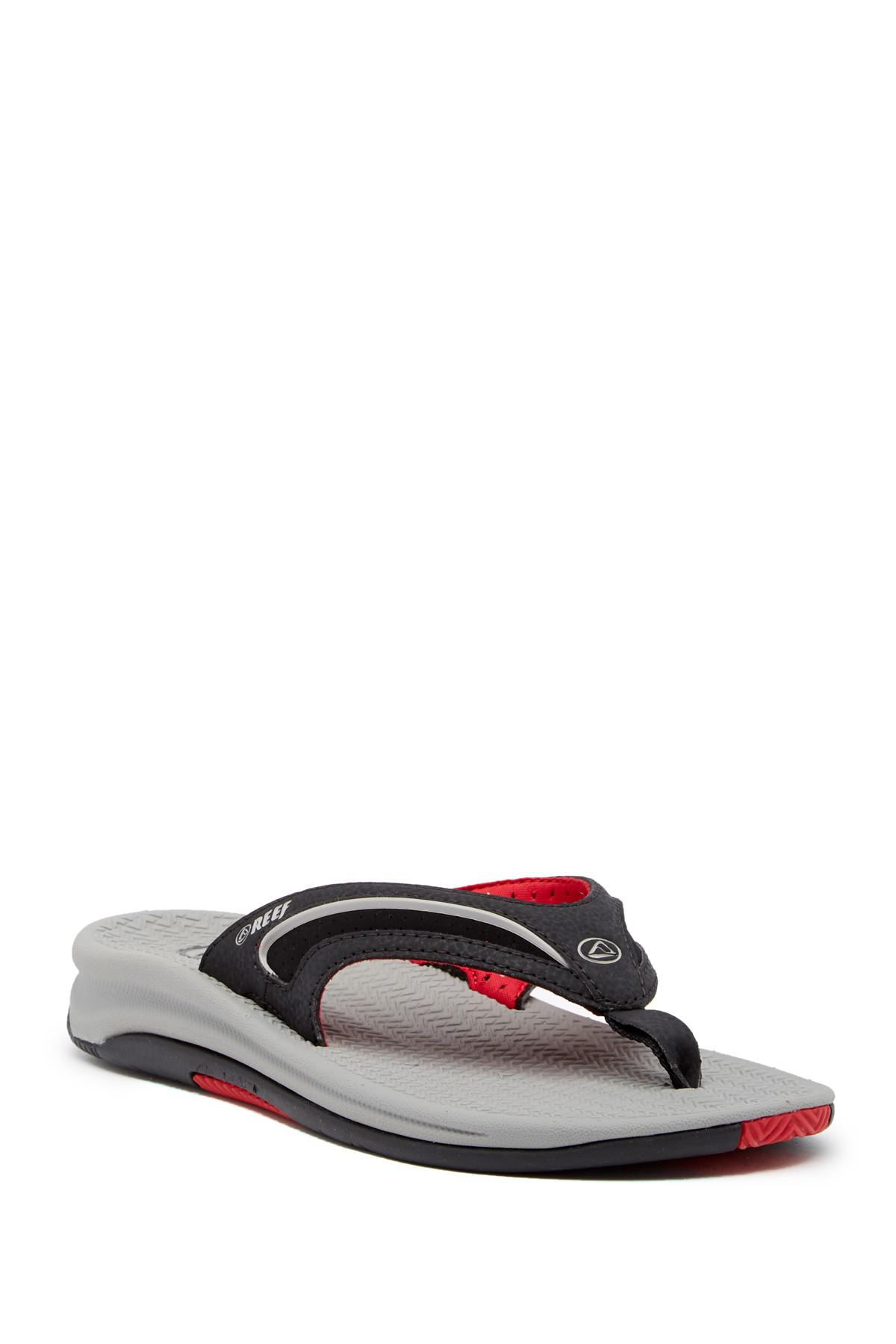 debfe1f9909 Lyst - Reef Flex Flip Flop (men) in Red for Men