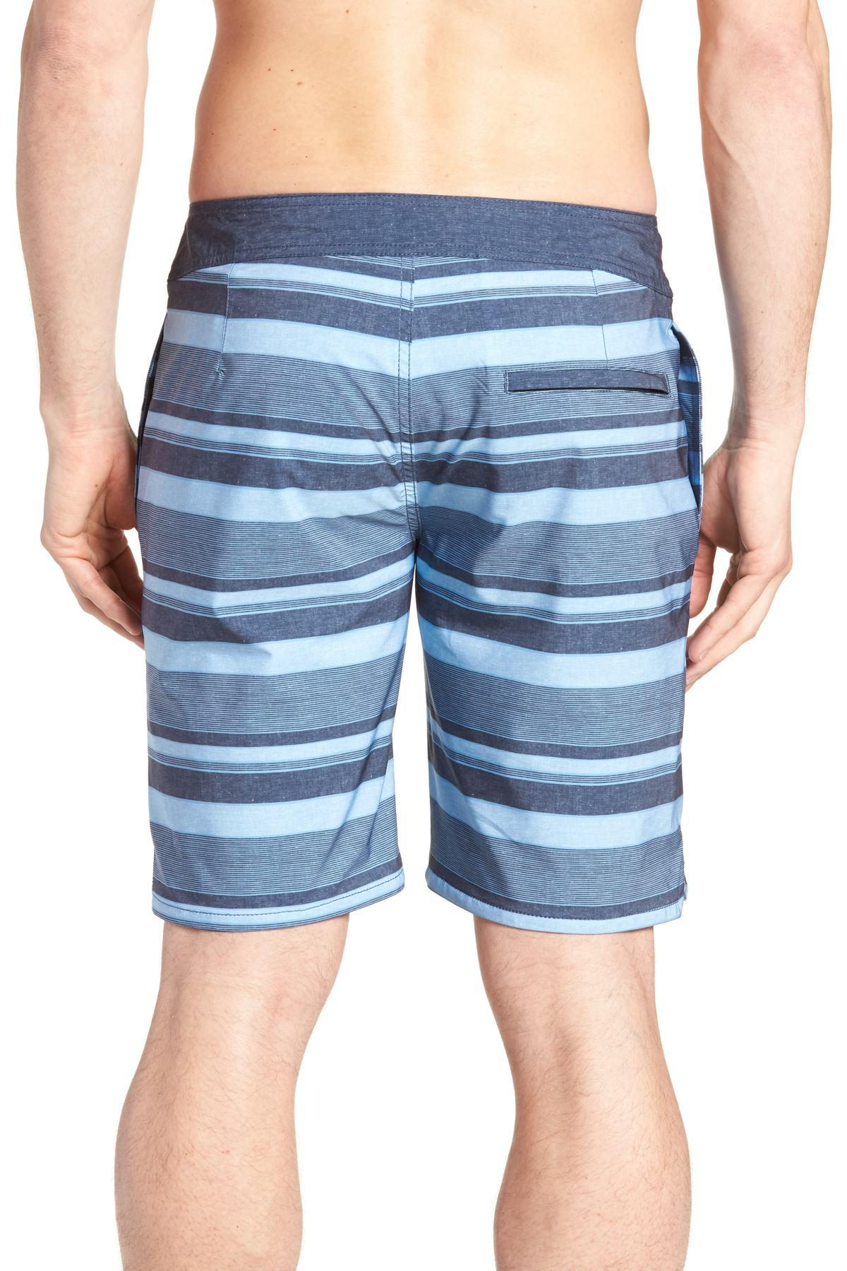 2ba37d7ac0 Travis Mathew - Blue Colinas Regular Fit Board Shorts for Men - Lyst. View  fullscreen