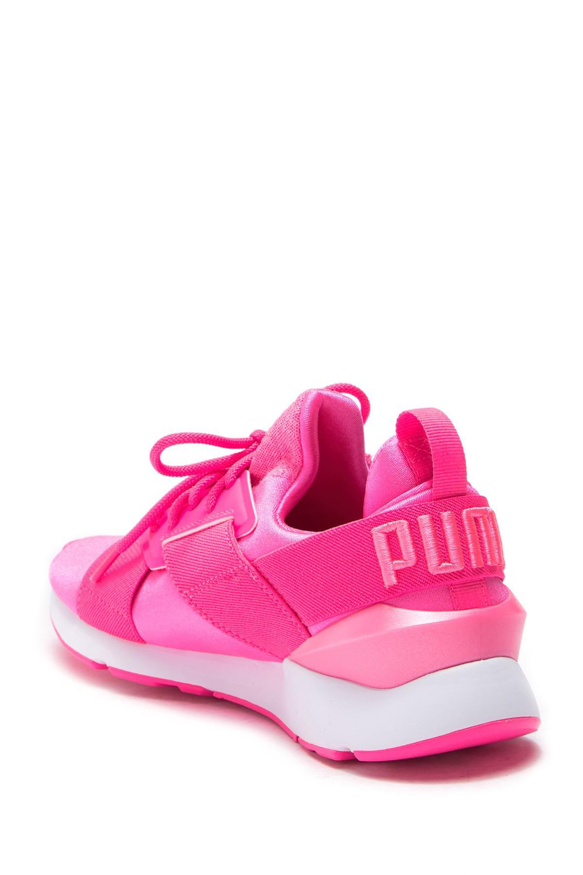cf4c595330f7 PUMA - Pink Muse Satin Ep - Lyst. View fullscreen
