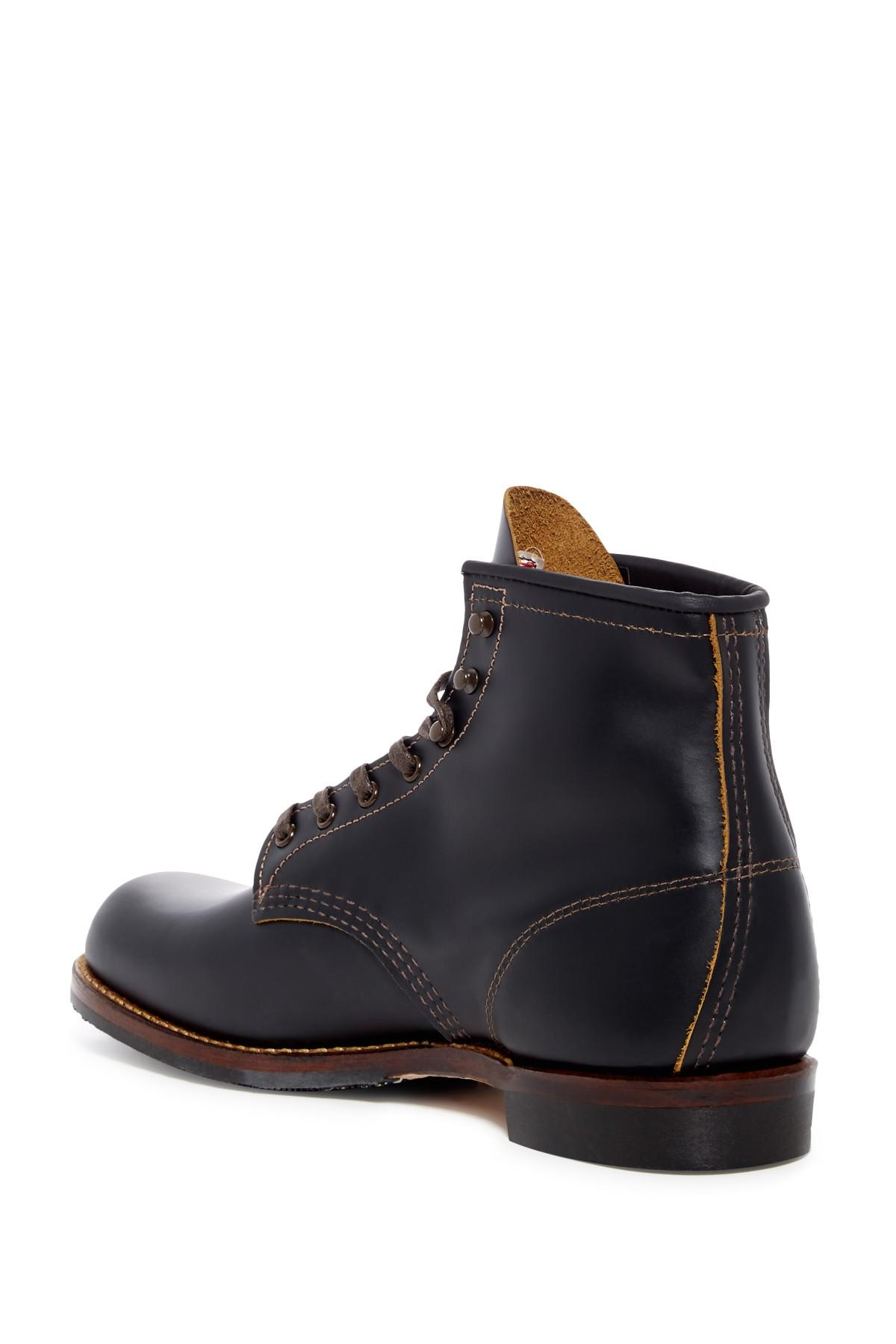 bfcf56415b7 Lyst - Red Wing Beckman Flatbox Leather Chelsea Boot - Factory ...