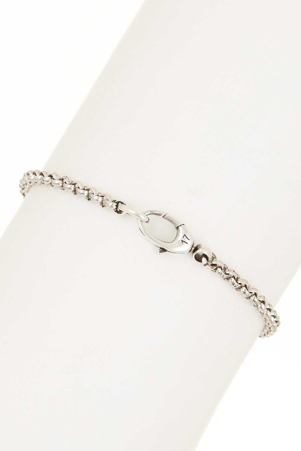 04a1fea36c8 Lyst - Gucci Sterling Silver Flora Heart Bracelet in Metallic