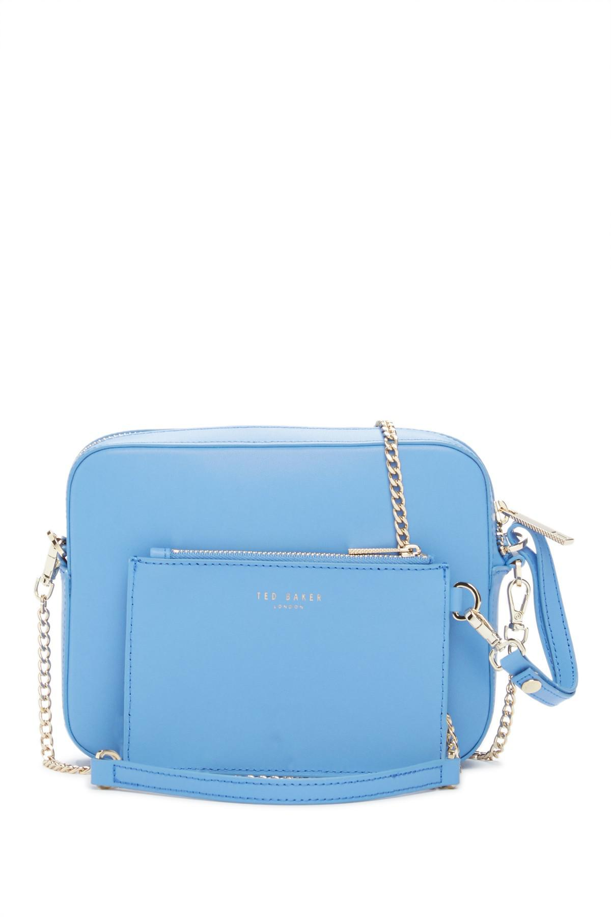 96f7f2e1a Ted Baker Laneyy Chain Strap Camera Bag in Blue - Lyst