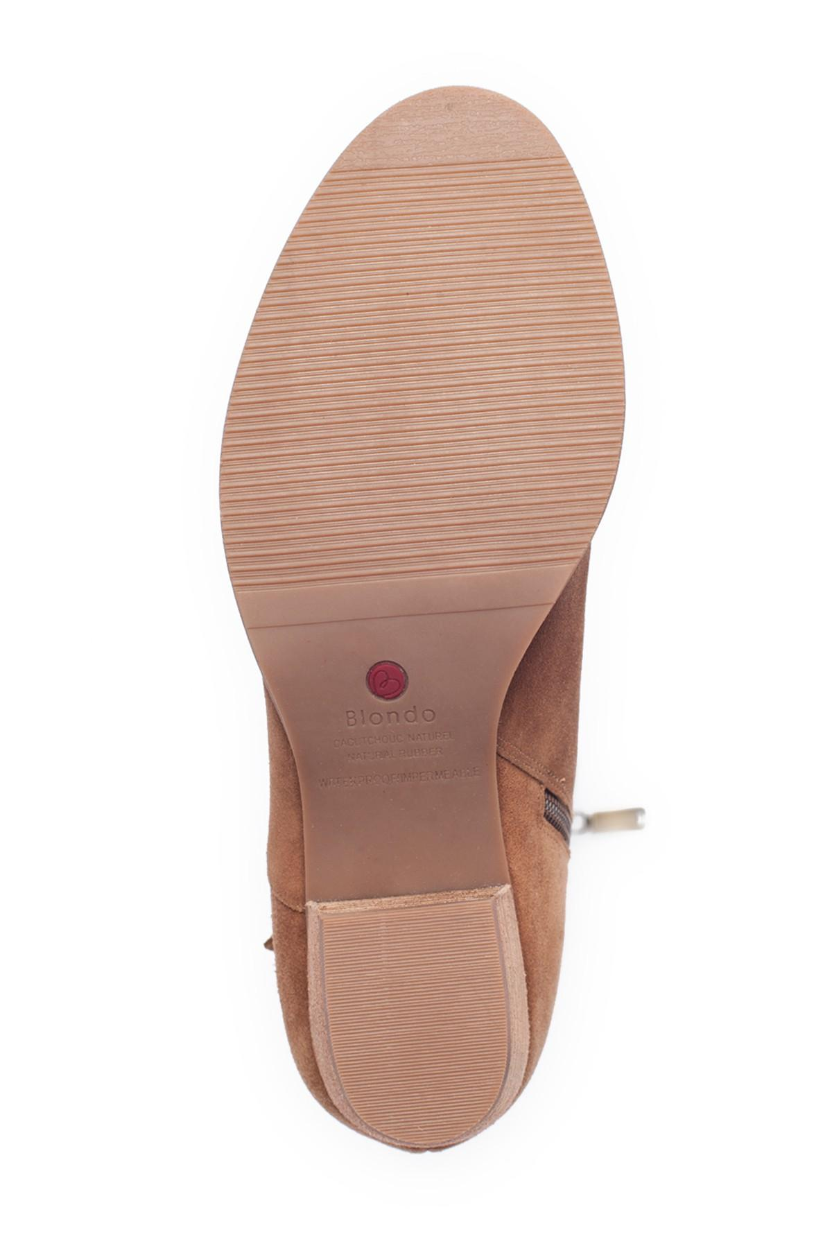 4df816694328 Lyst - Blondo Nestle Waterproof Knee High Boot (women) in Brown ...