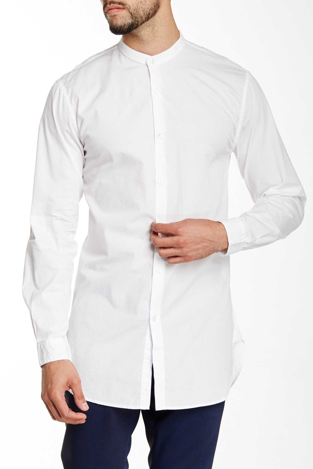 How To Wear A Grandad Collar Or Collarless Shirt. A versatile and easy to wear piece with the ability to transcend casual and formal dress codes, the Grandad collar shirt .