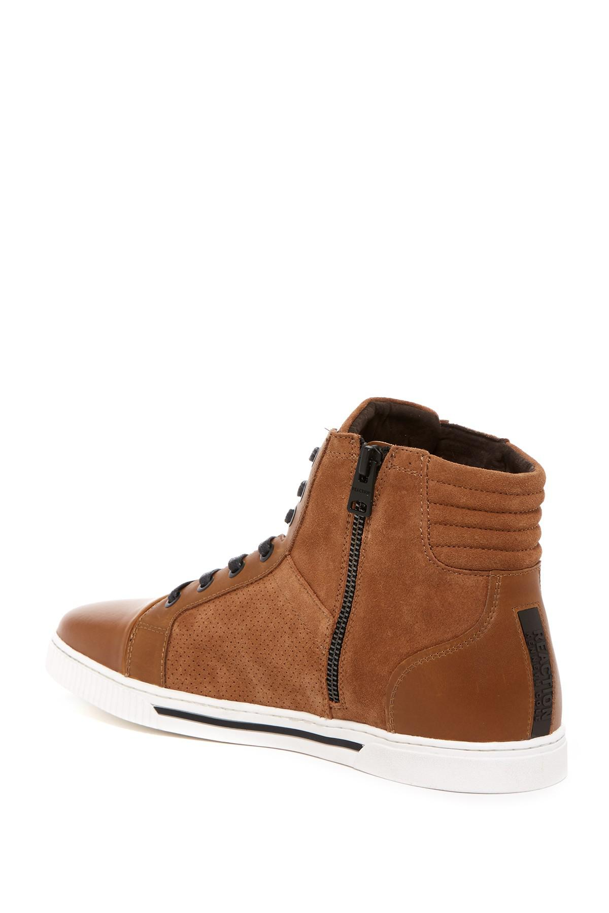 Kenneth Cole Reaction Fence Around High Top Sneaker HAiVp8z