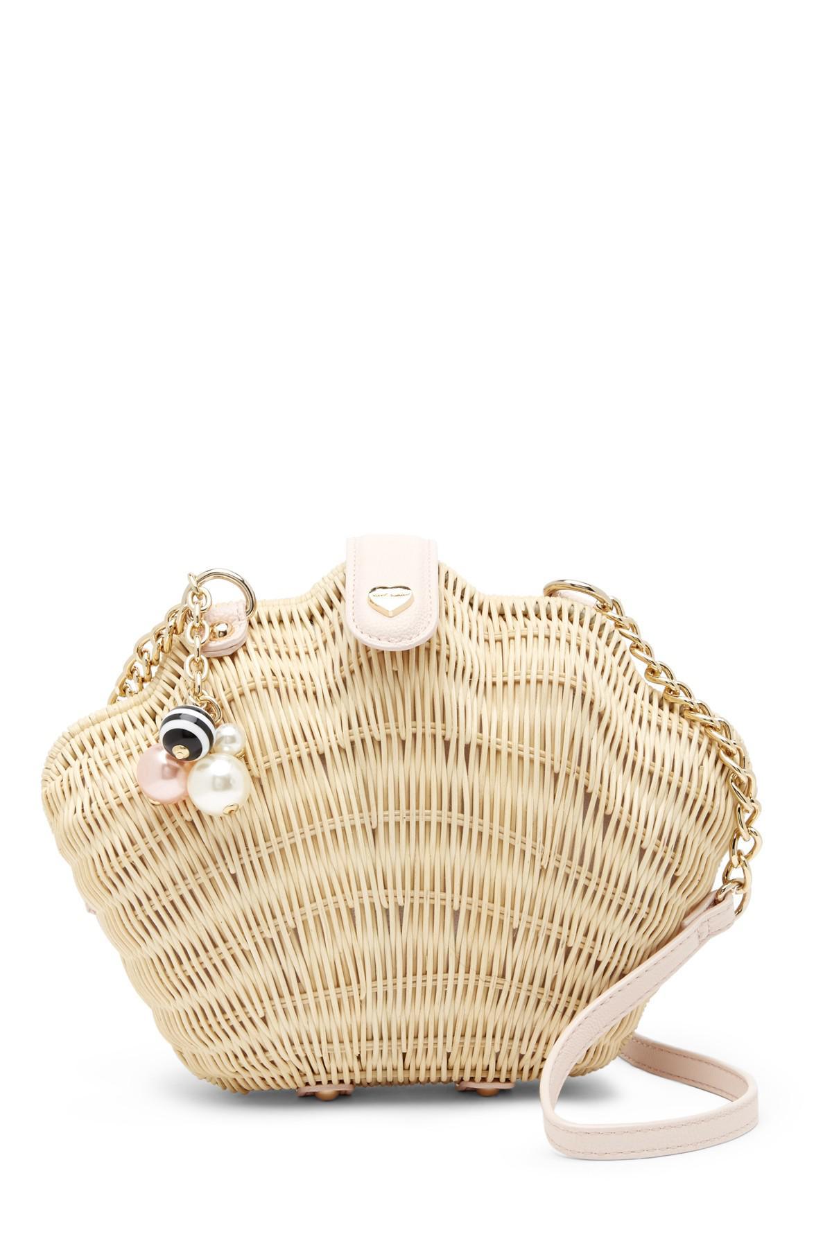 d84374bb1217 Lyst - Betsey Johnson Shell Crossbody Bag
