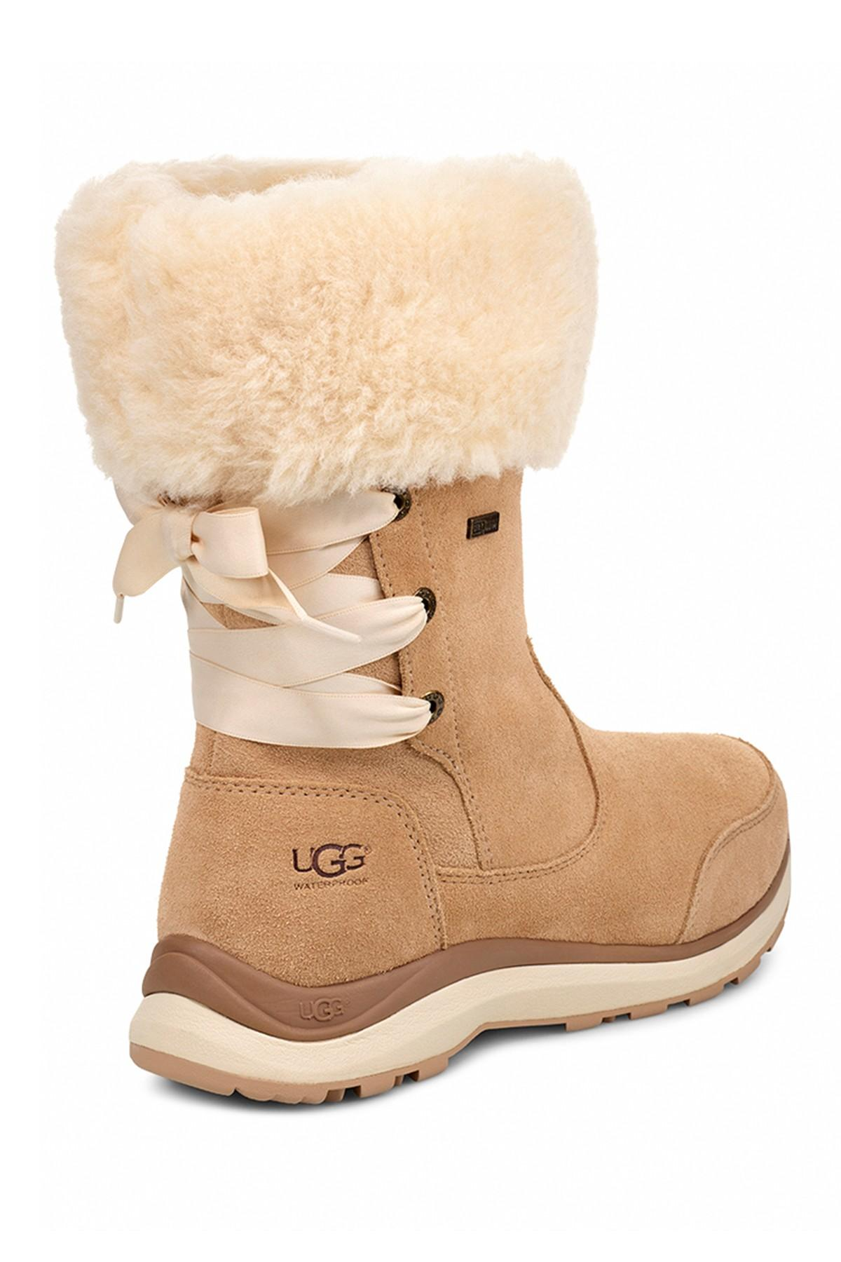 dfc5454bfe5 Lyst - UGG (r) Ingalls Faux Fur Cuff Waterproof Bootie