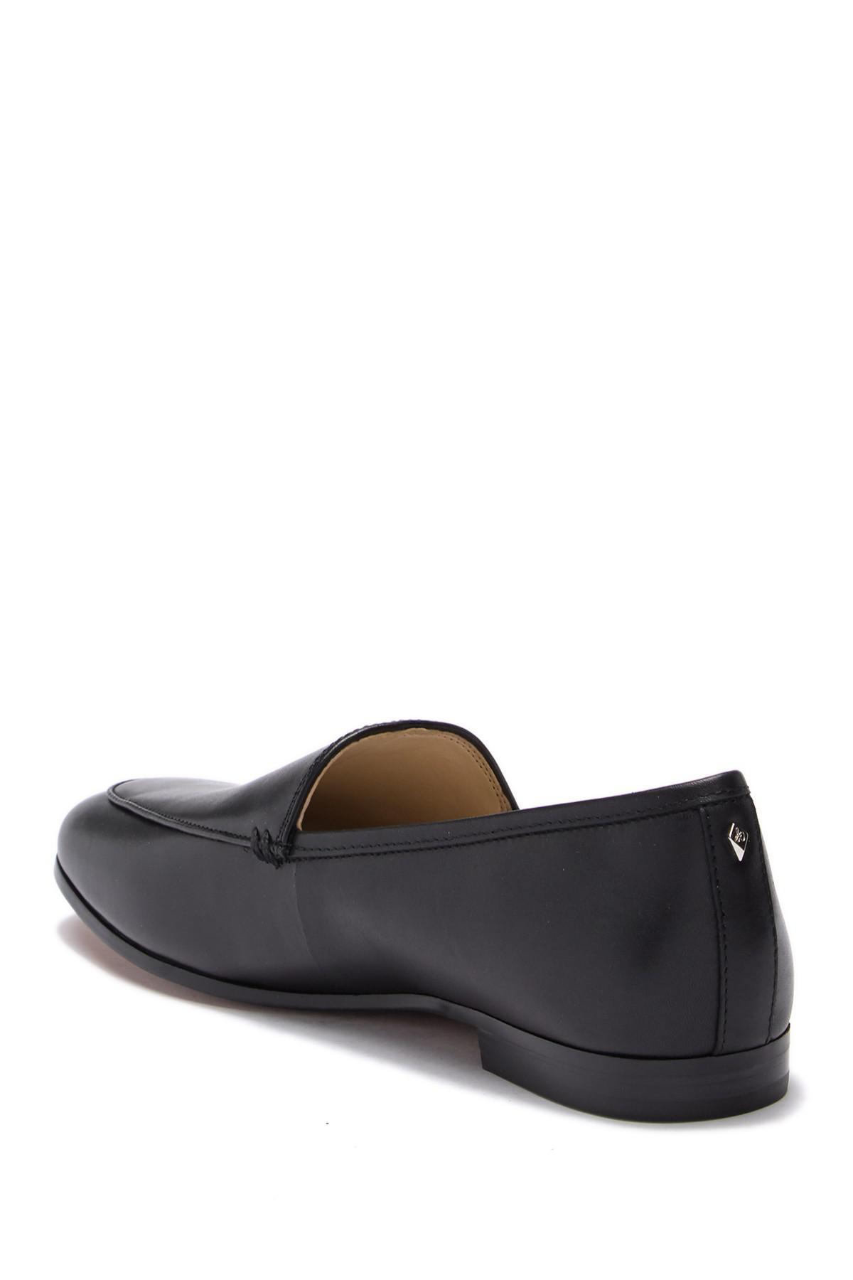 ee8a417c56e6d Lyst - Sam Edelman Leon Flat in Black