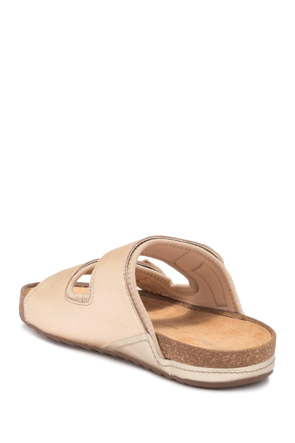 8b7a9c55de79 Lyst - Easy Spirit Peace Slide Sandal - Wide Width Available