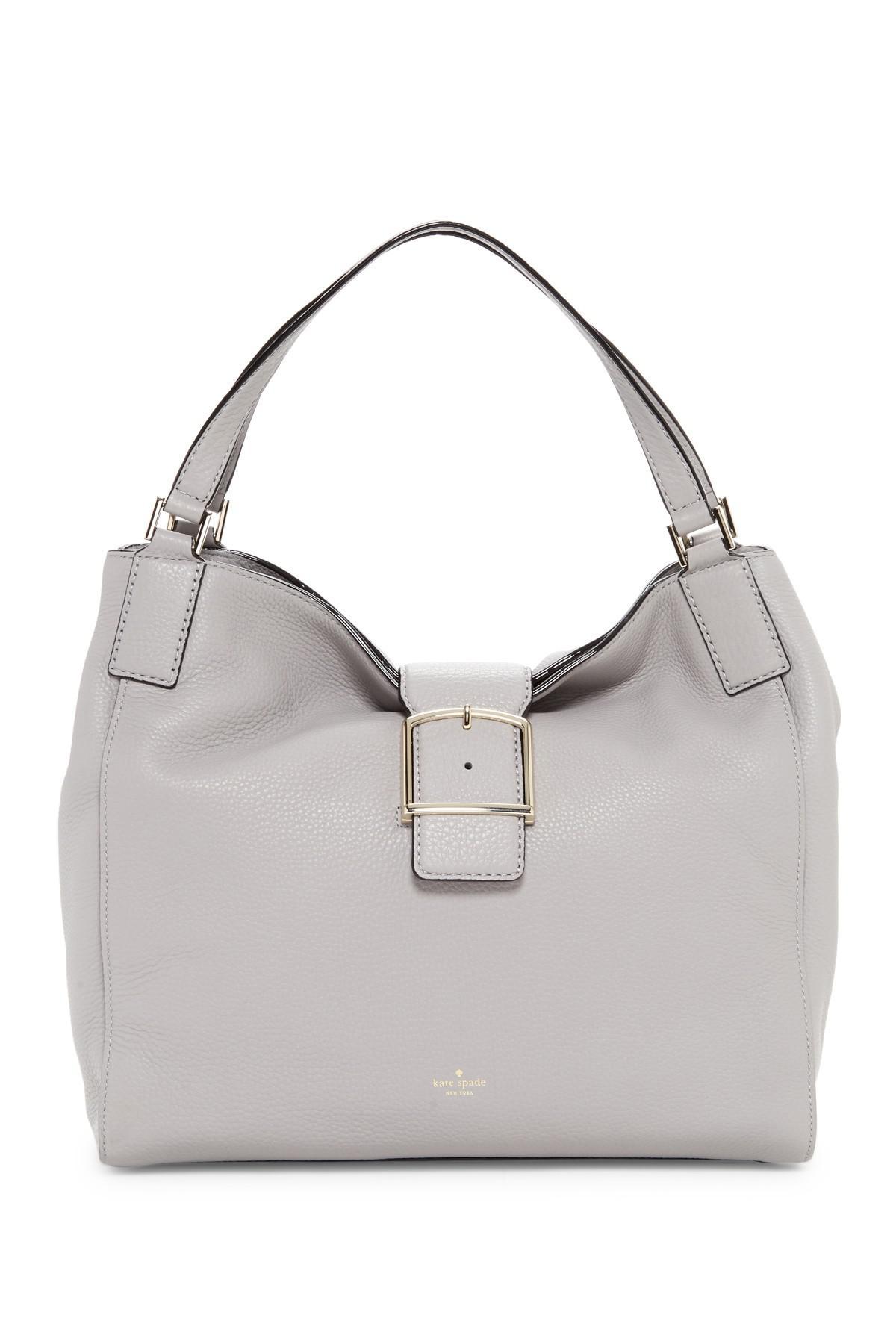 52504597f7b12 Lyst - Kate Spade Jayne Leather Shoulder Bag