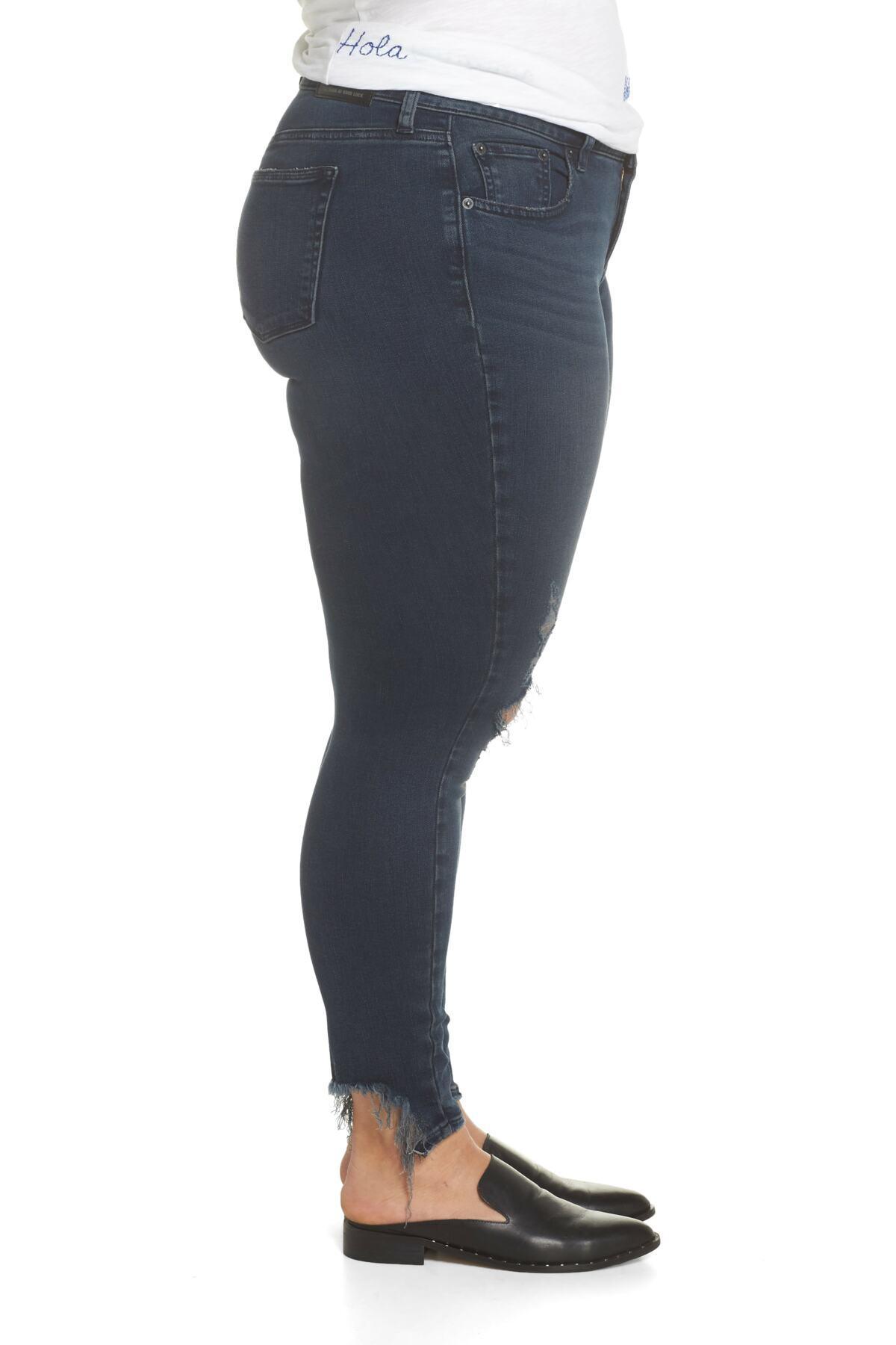 4de79e20e9c Lyst - Lucky Brand Lolita Super Skinny Jeans (palacios Chew) (plus ...