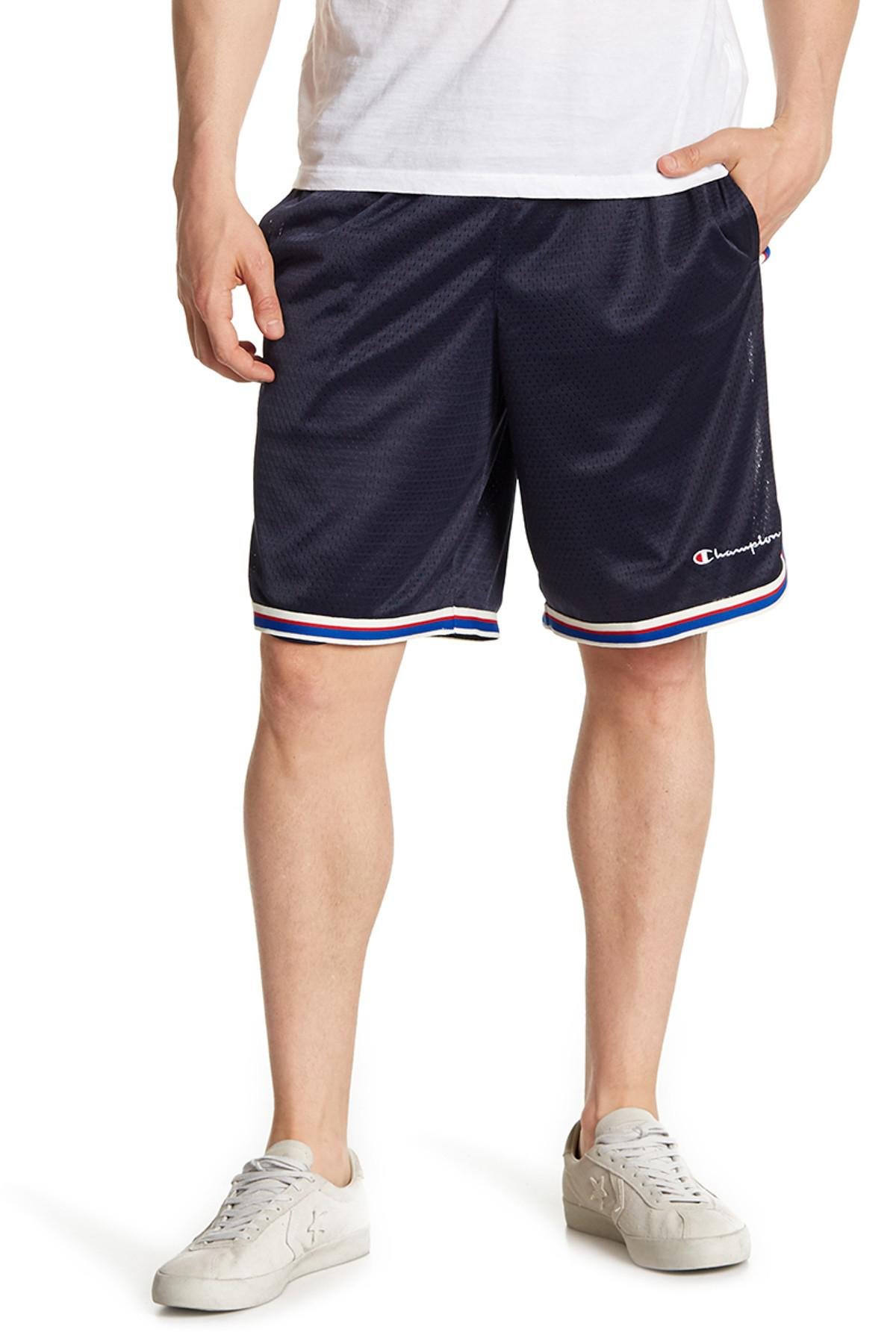 df8deacaa780 Lyst - Champion Core Mesh Basketball Shorts in Blue for Men