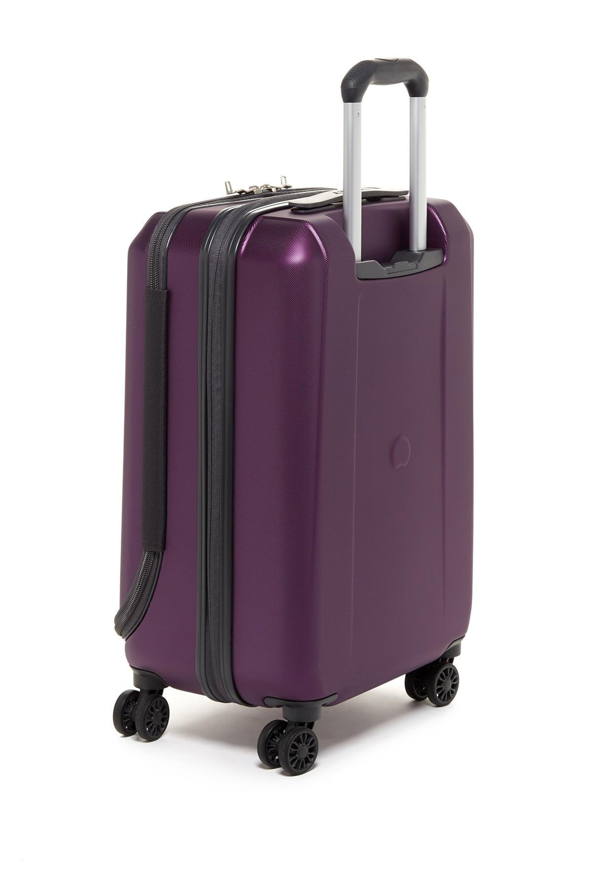 Lyst Delsey 21 Quot Expandable Spinner Suiter Trolley Case