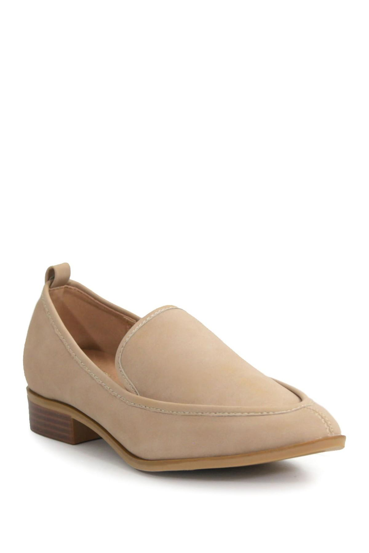 014cef3d991 Lyst - Catherine Malandrino Westly Low Heel Loafer in Brown
