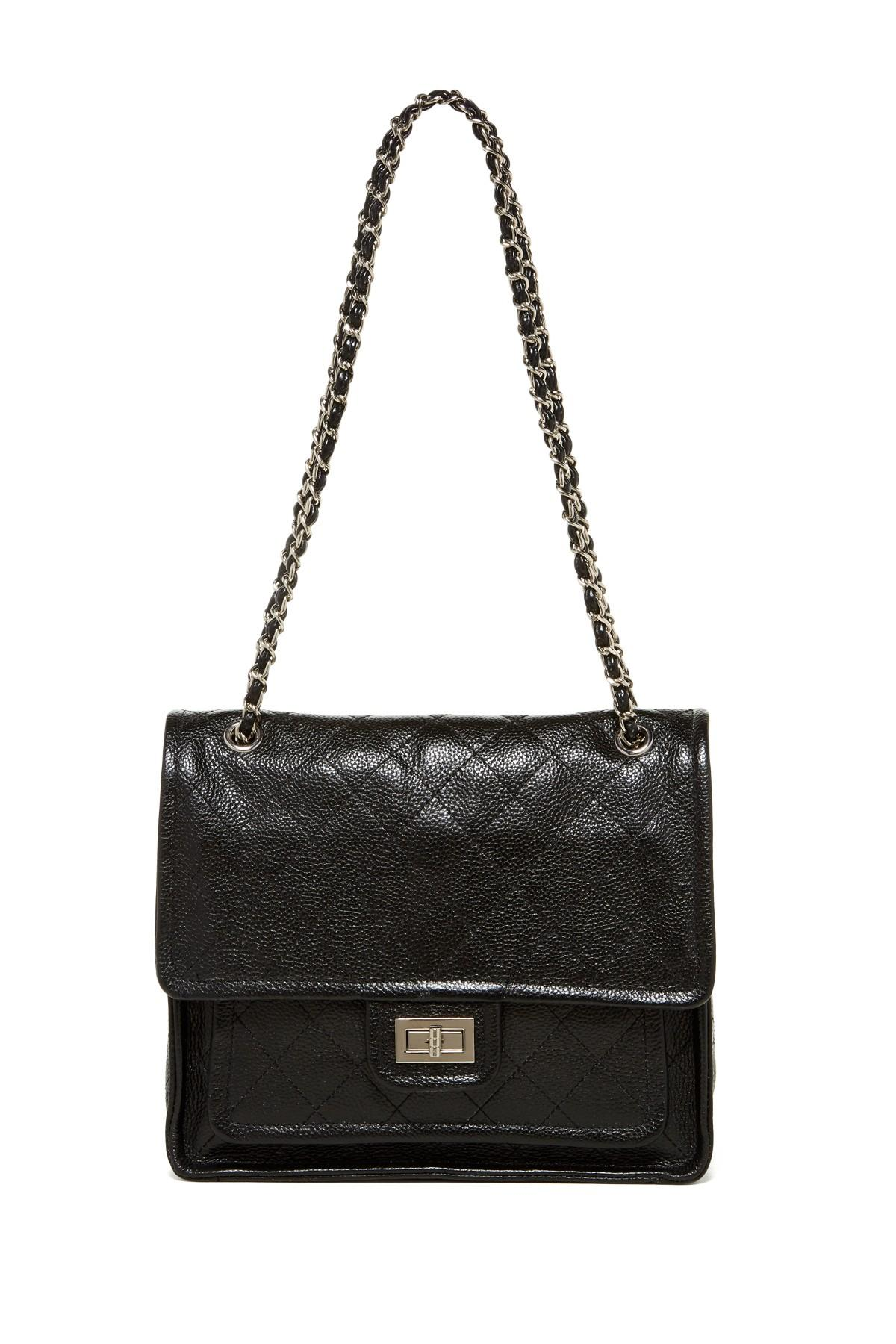 Zenith Quilted Shoulder Bag With Chain 56