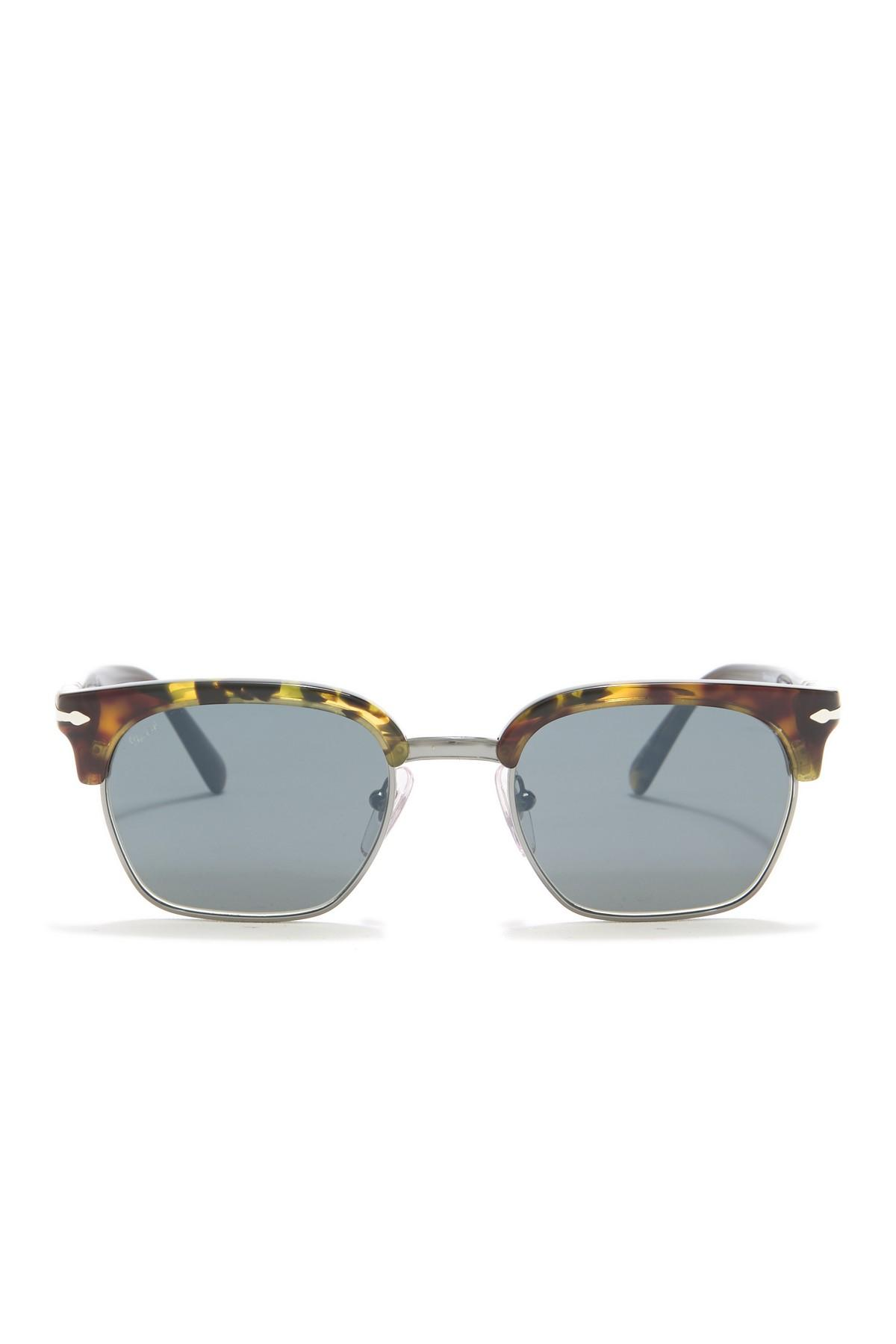 06bf019adced Persol - Multicolor Tailoring Edition 50mm Clubmaster Sunglasses for Men -  Lyst. View fullscreen
