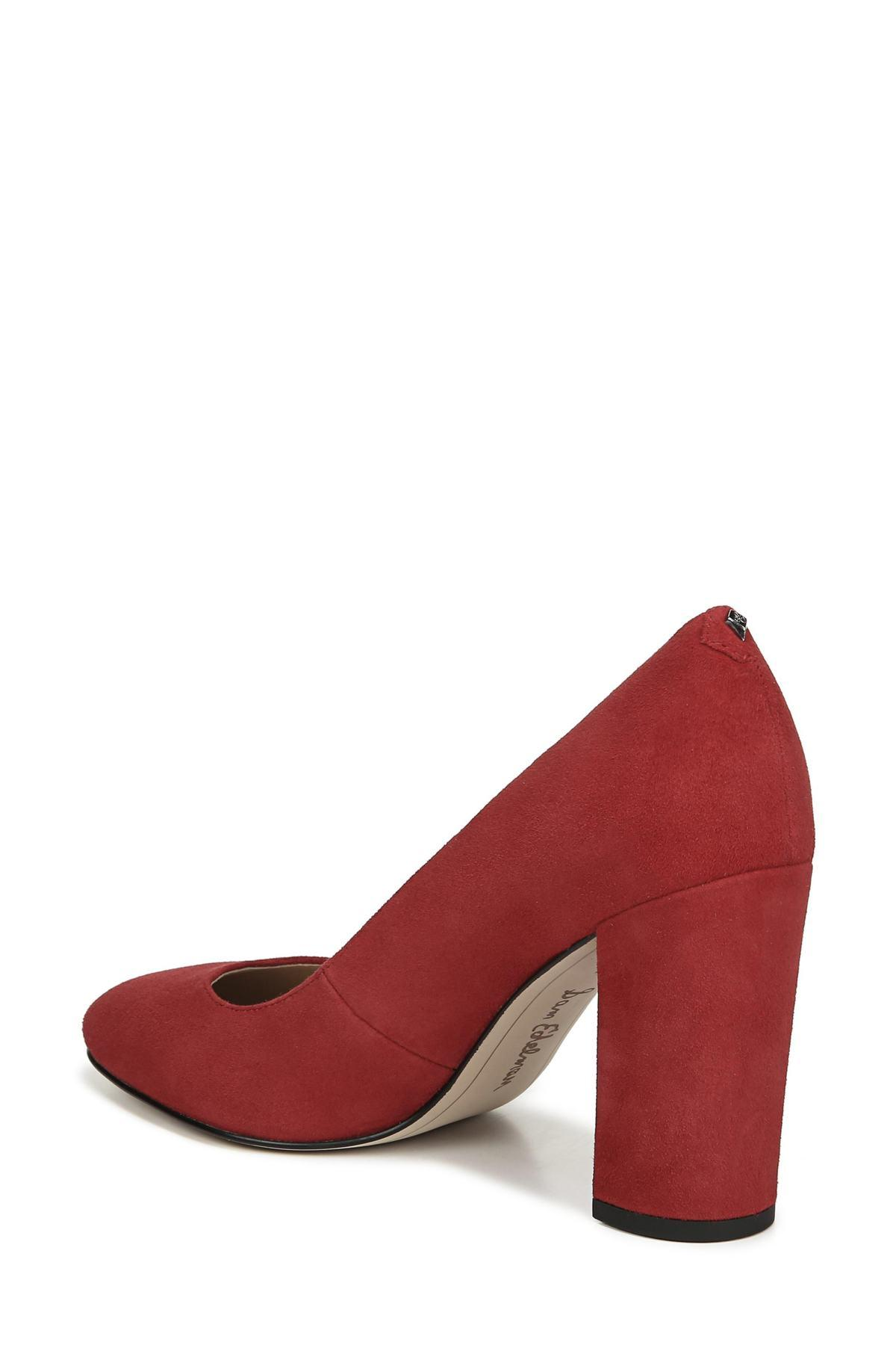 985159e1080d Sam Edelman - Red Stillson Pump - Lyst. View fullscreen