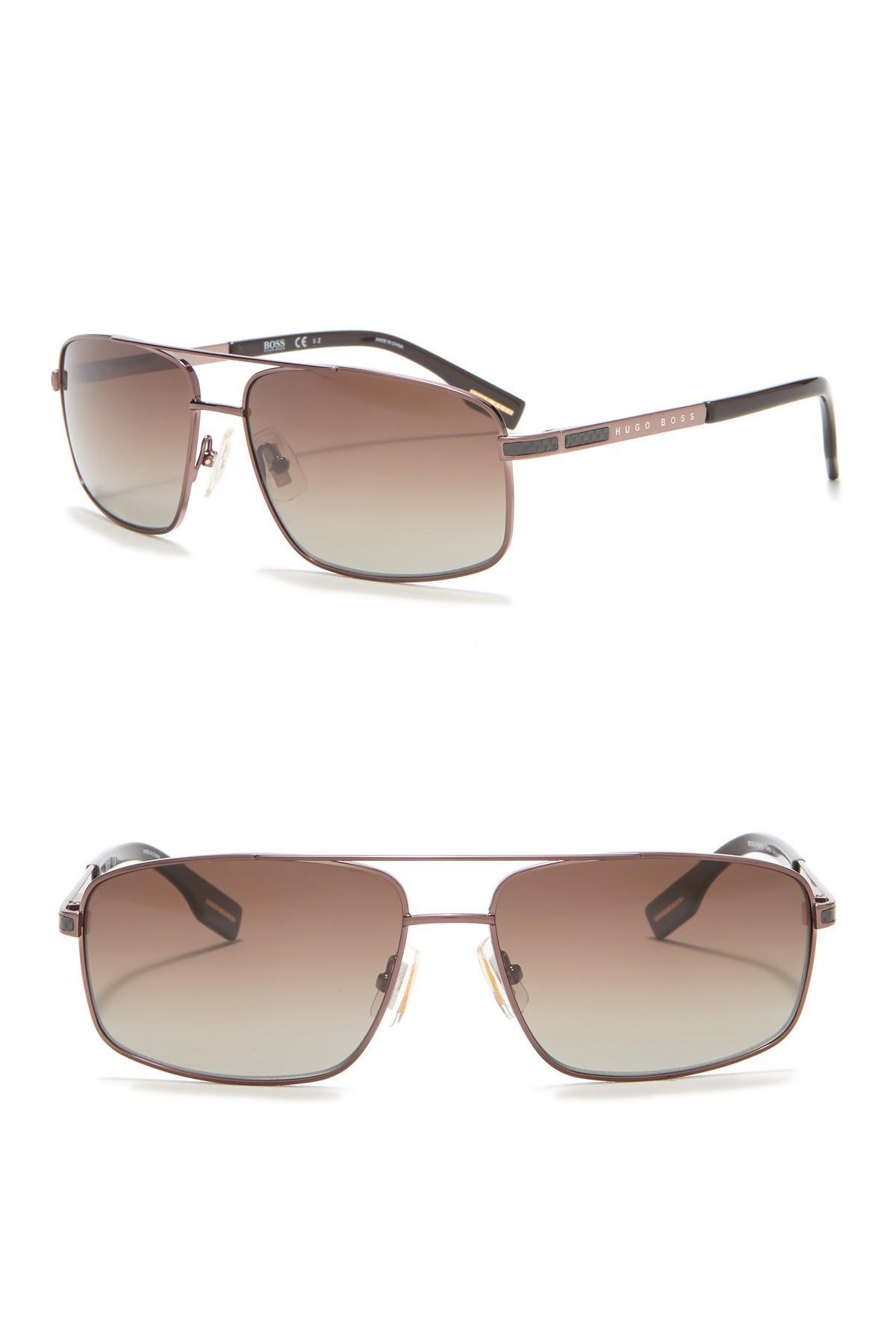 e203f7d5de Lyst - BOSS Men s Navigator Metal Frame Sunglasses for Men