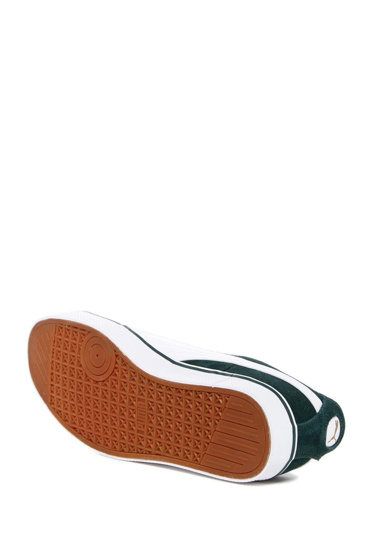 Lyst Puma 1948 Vulc Sneaker In Green For Men