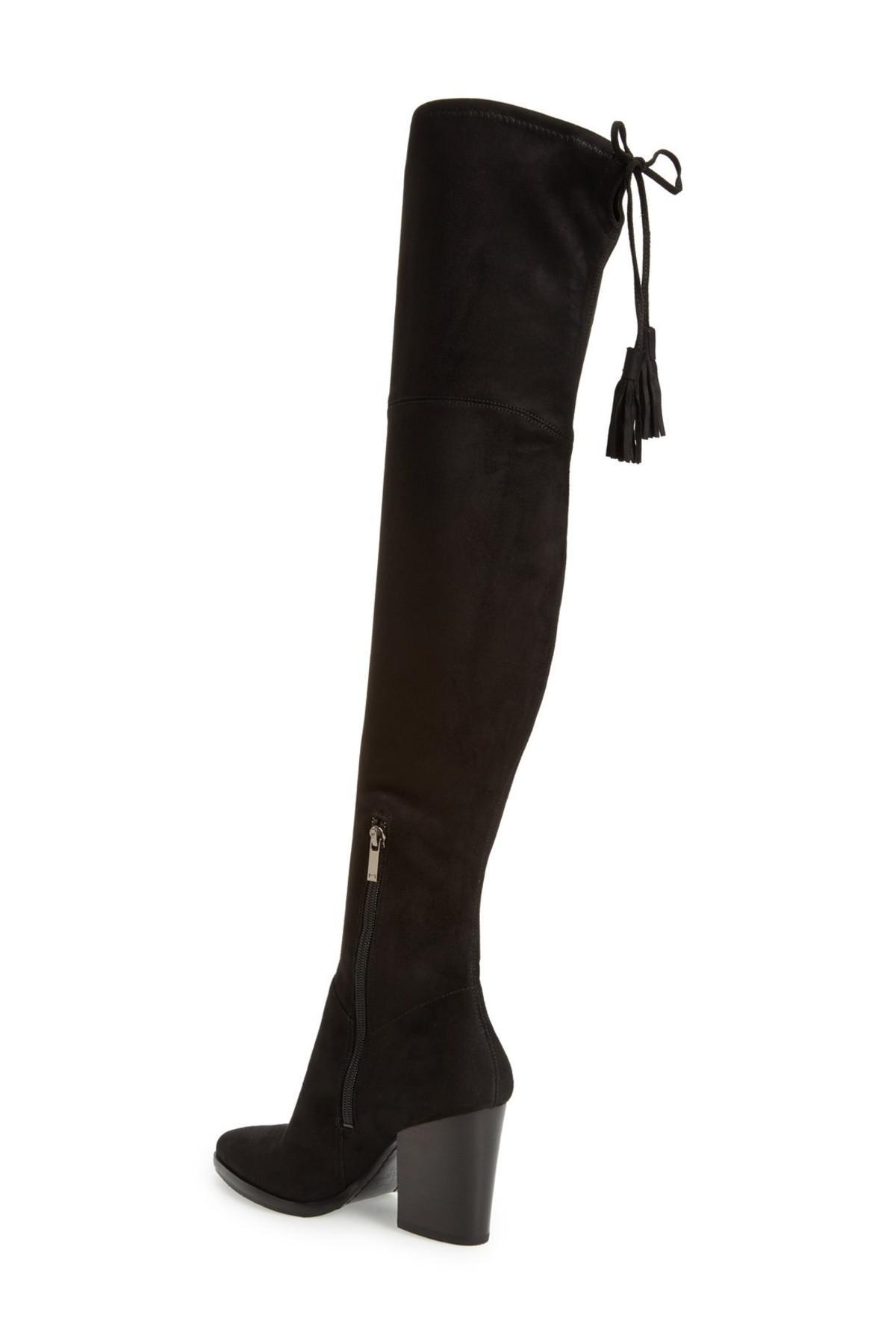726d72ee4c2 Lyst - Marc Fisher Alinda Over The Knee Boot in Black