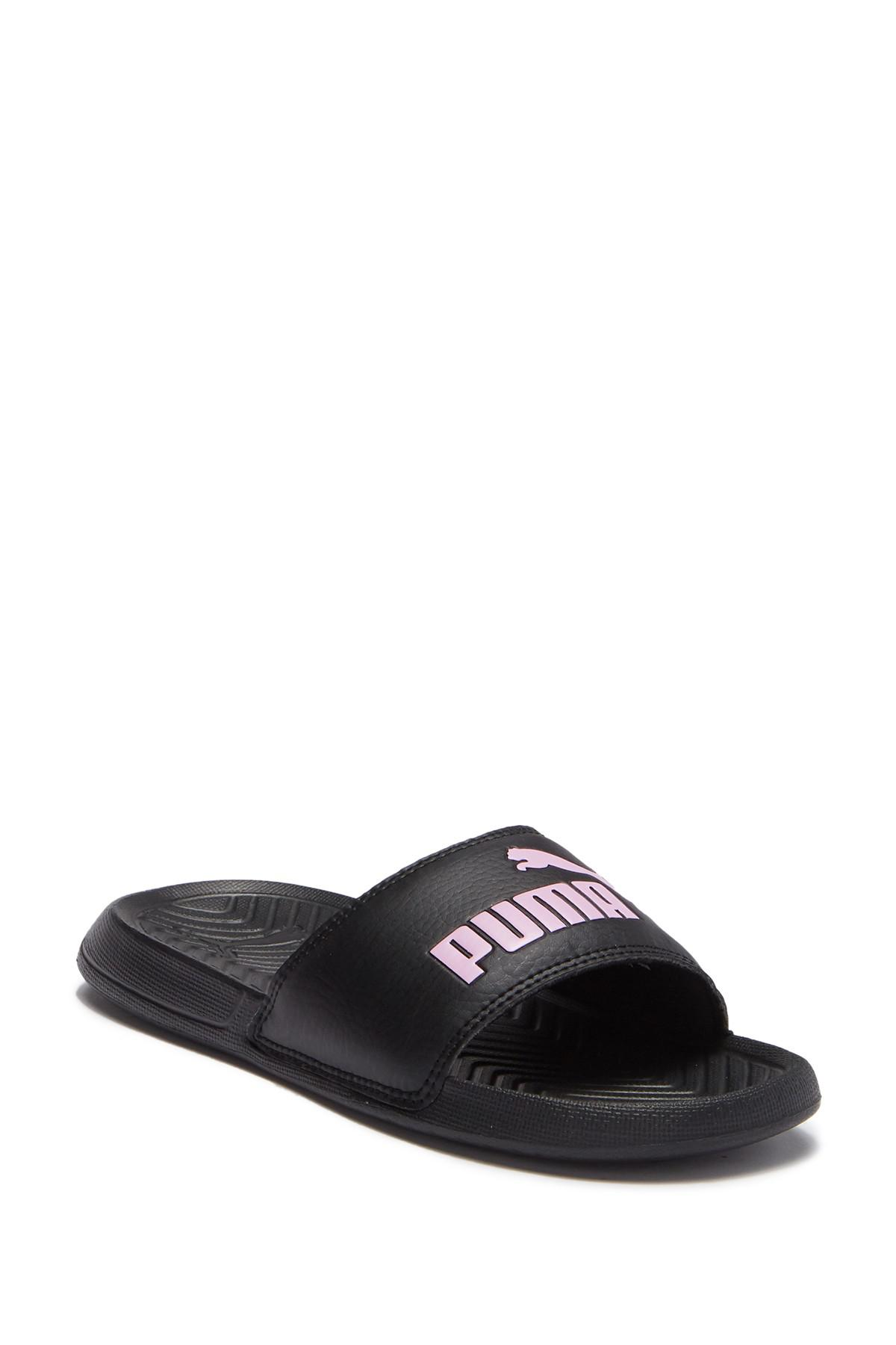 decba53e2f7f Lyst - PUMA Popcat Jr. Slide Sandal in Black for Men