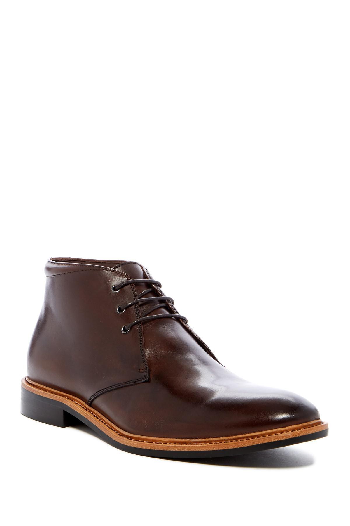 Lyst Gordon Rush Nathanson Chukka Boot In Brown For Men