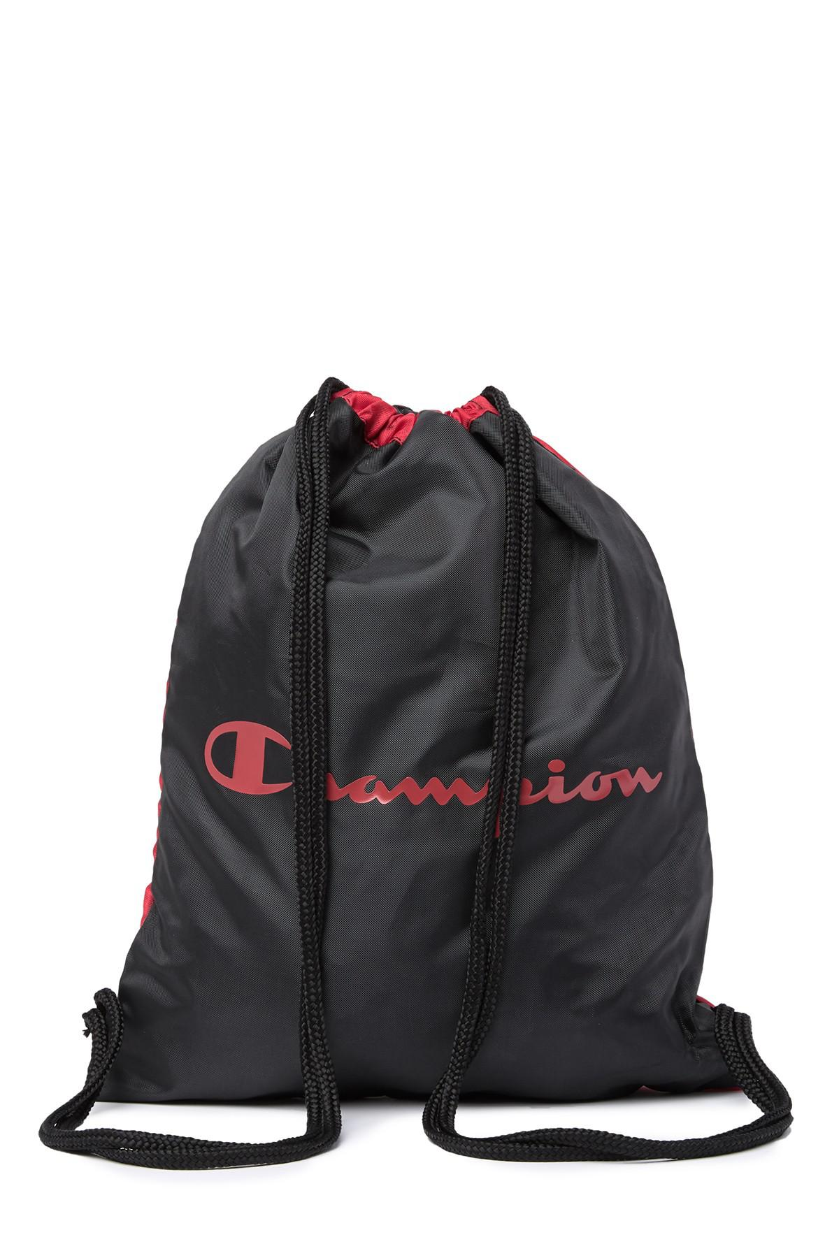 Champion - Red Forever Champ Double Up Sack Pack for Men - Lyst. View  fullscreen 614243d074c49