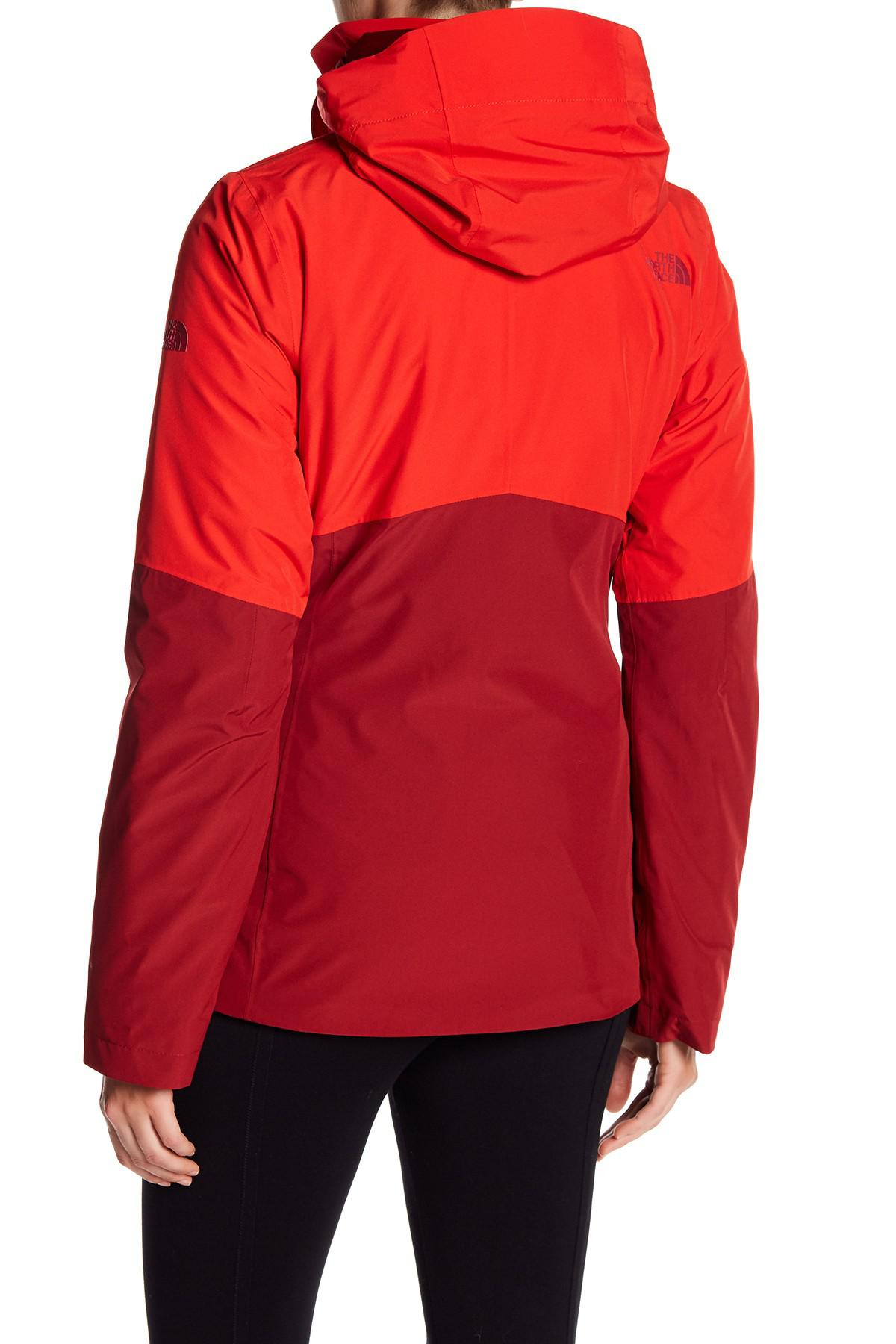 452ef1c9c2932 The North Face Garner Triclimate Water Resistant Jacket in Red - Lyst