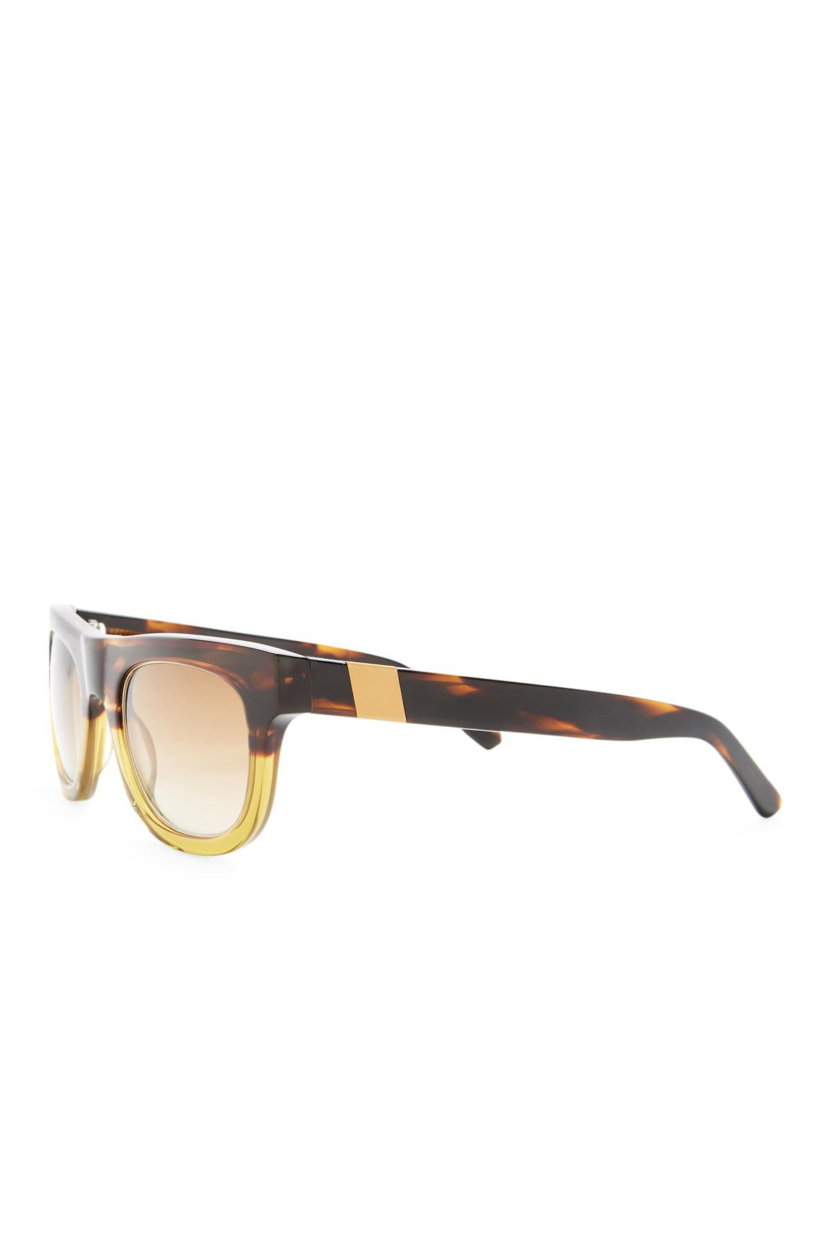 644e1973a6f Lyst - Westward Leaning Pharaoh Oversized Sunglasses in Brown