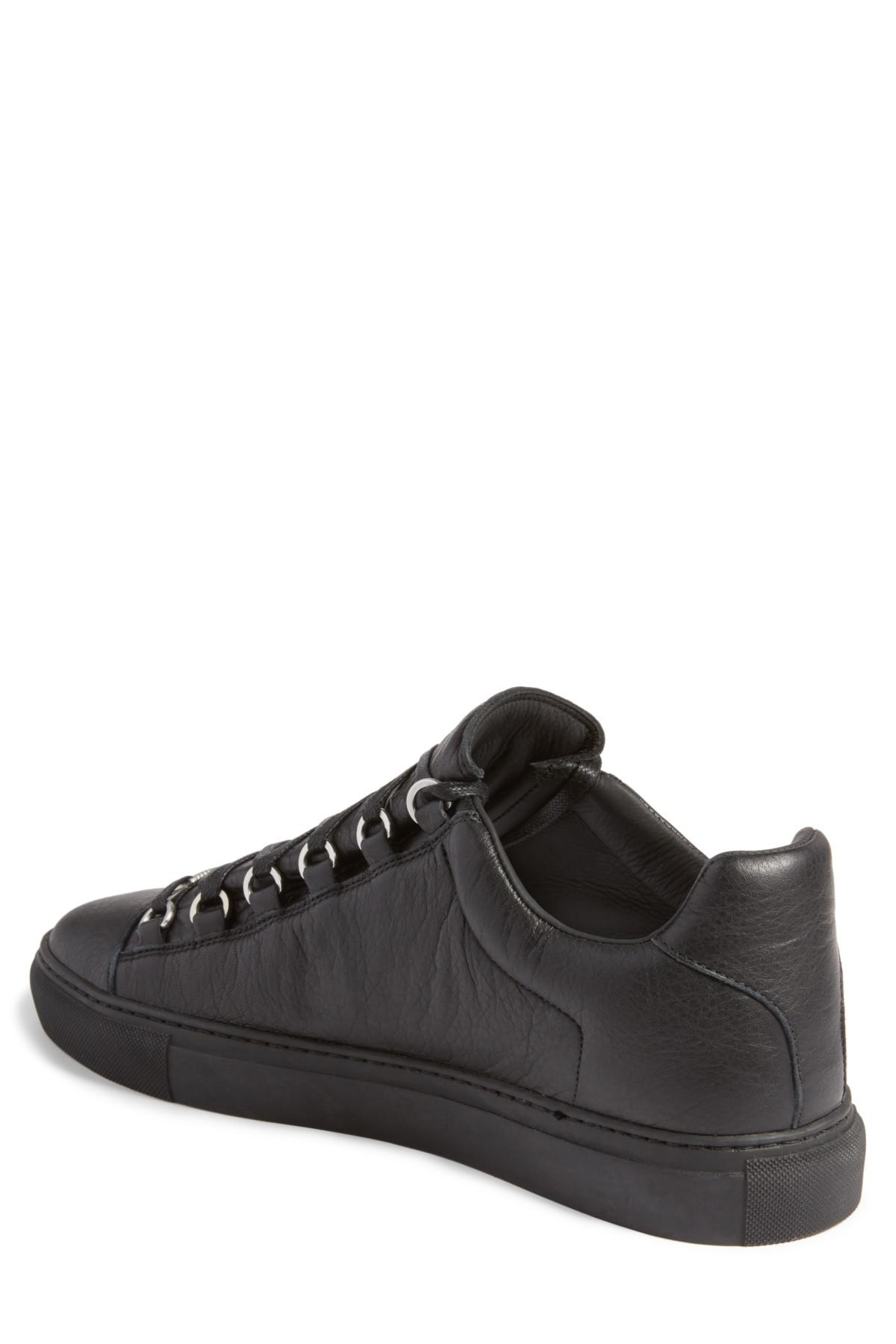 8984b36203dbd Lyst - Balenciaga Arena Low Sneaker (men) in Black for Men