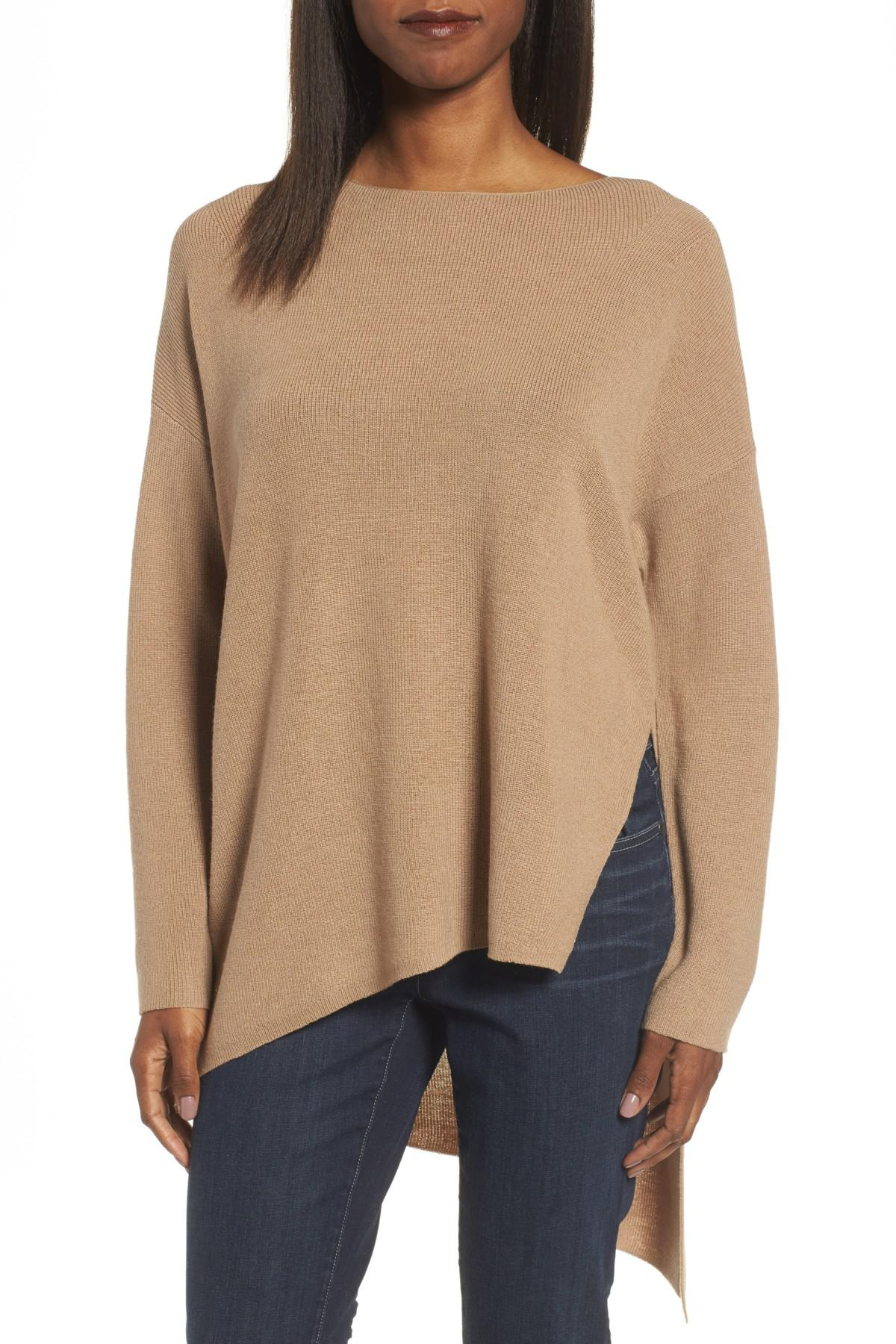 previously in eileen cotton size organic plus cardigan clothing linen gallery sold nordstrom lyst at white rack fisher