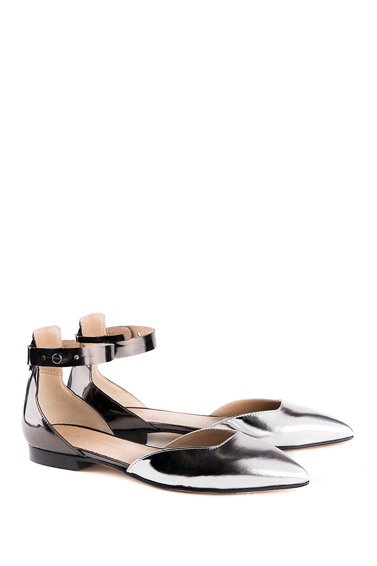 Perla Formentini Abelie Leather Flat qa7gIy