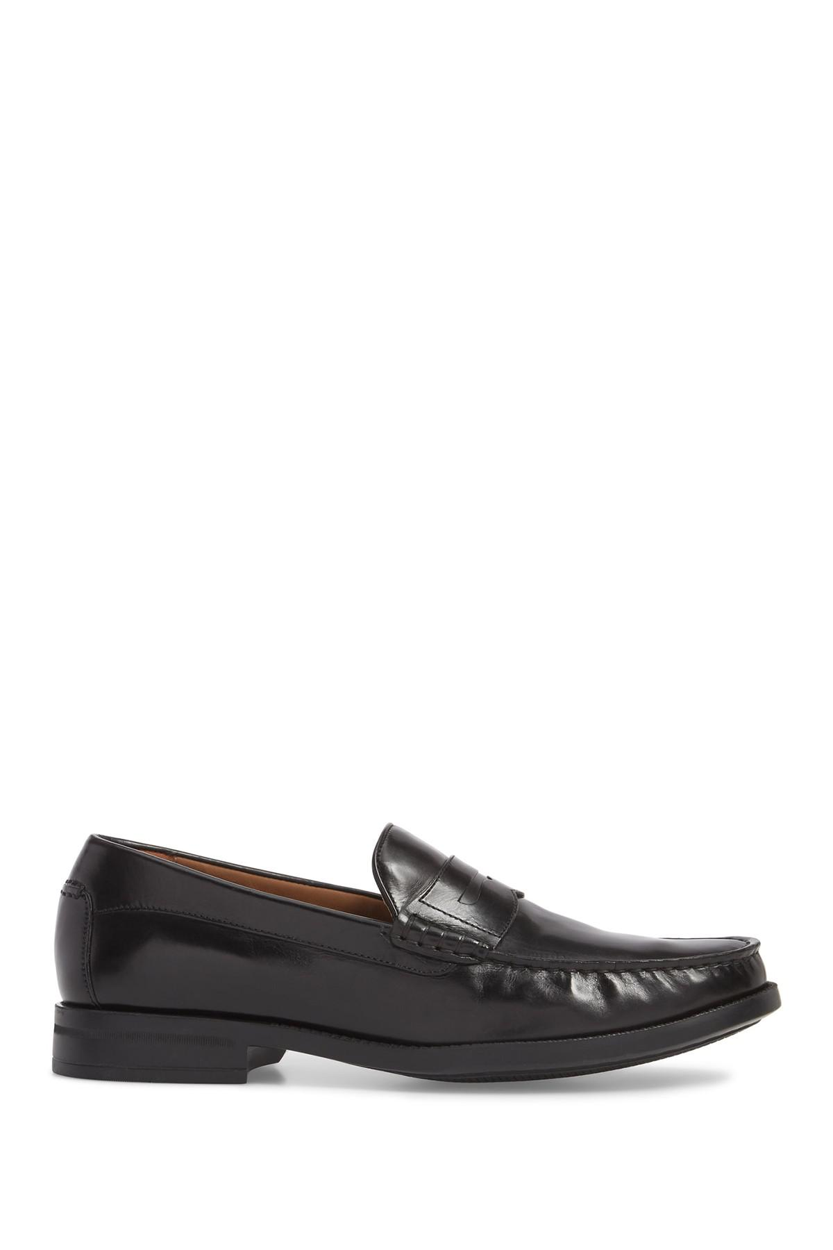 731e598f398 Johnston   Murphy - Black Chadwell Penny Loafer for Men - Lyst. View  fullscreen