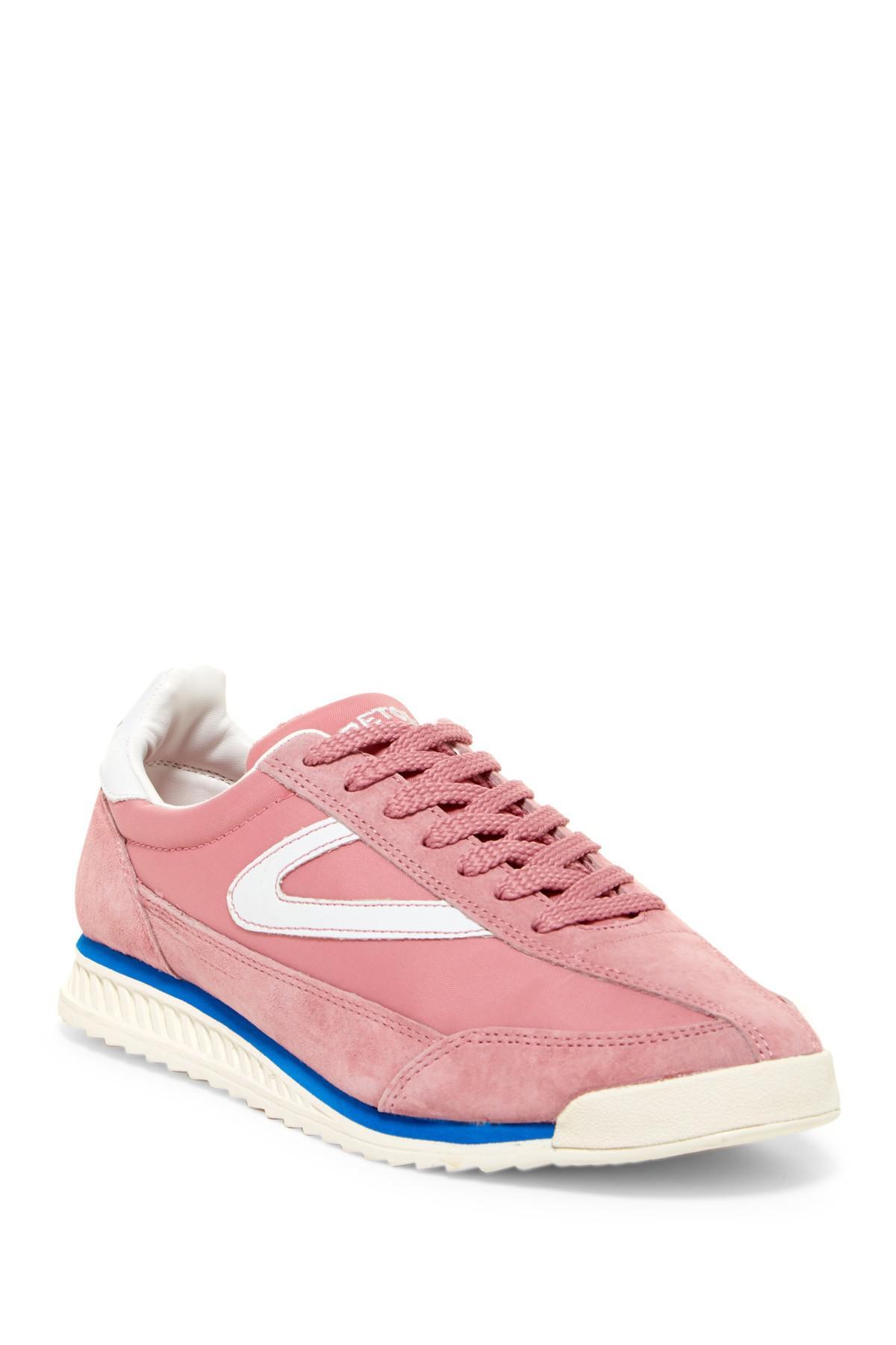 Tretorn Rawlins Sneaker In Pink Lyst