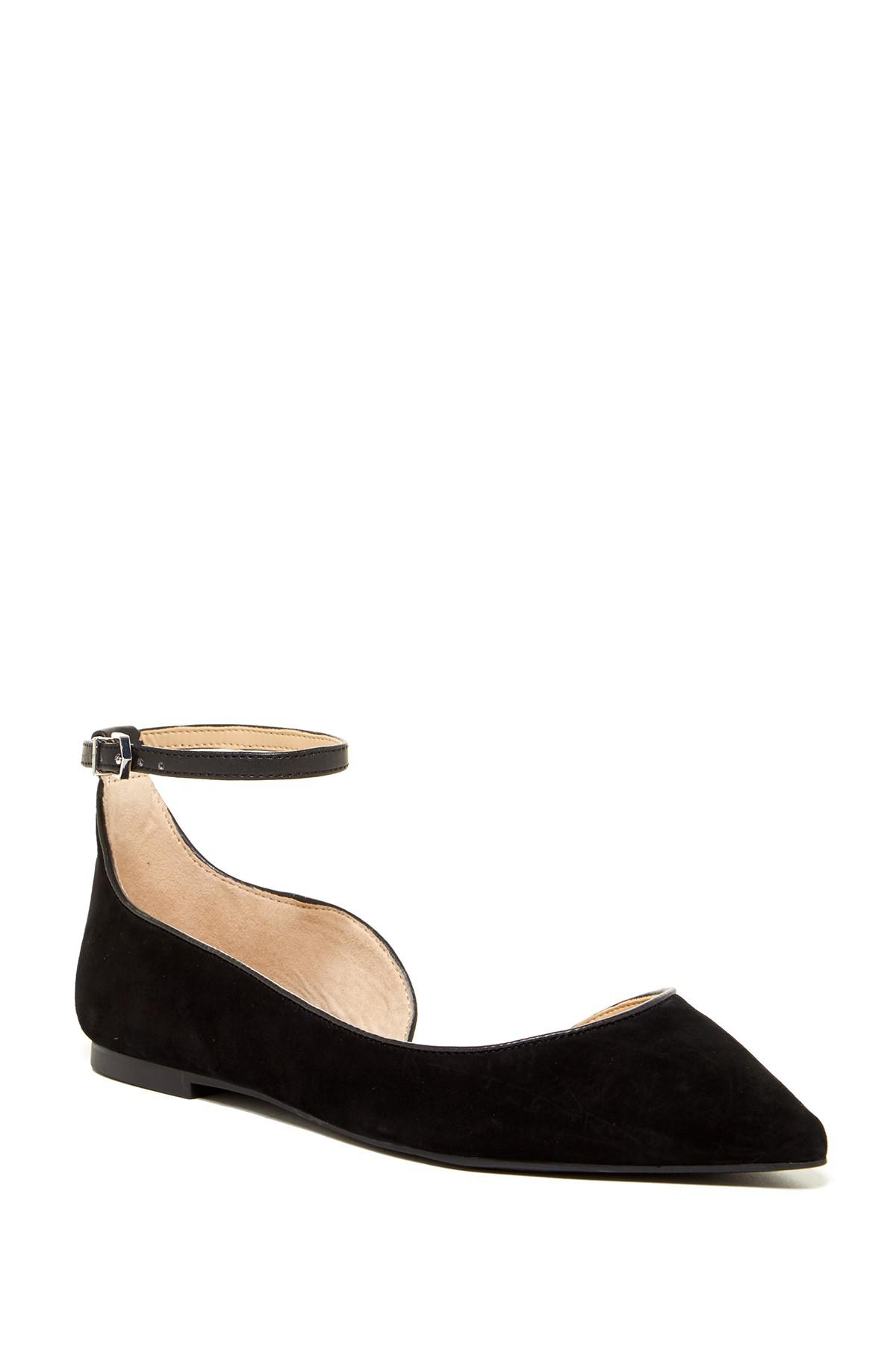 Sam Edelman Roni Studded Leather Half d'Orsay Flat