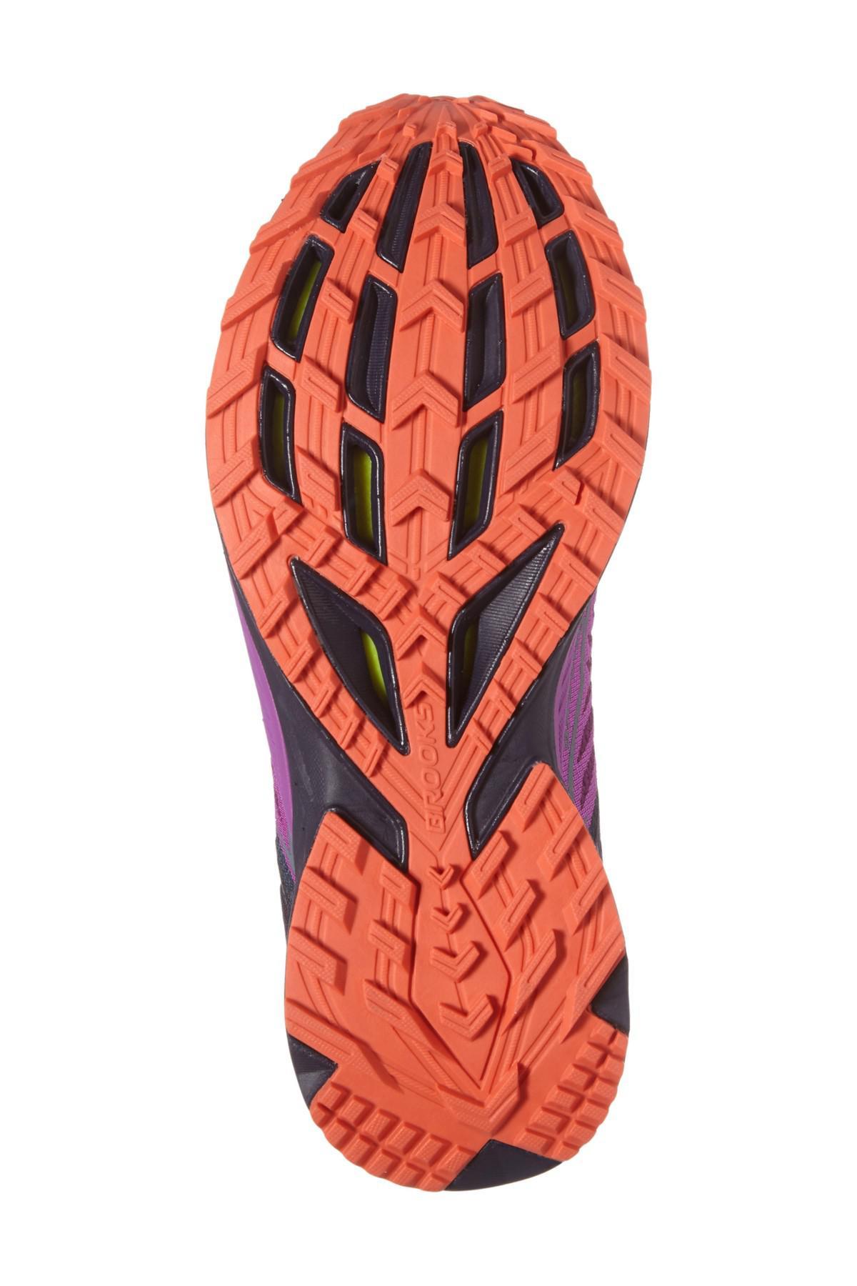 d7126ae259ccb Lyst - Brooks Mazama Trail Running Shoe in Purple