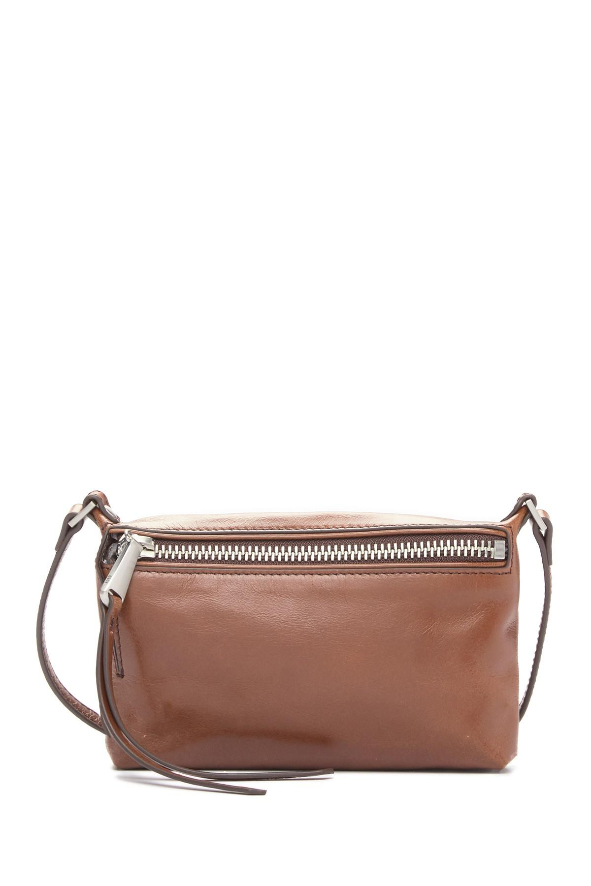 e0b88f84d50063 Lyst - Hobo Alexis Leather Crossbody Bag in Brown