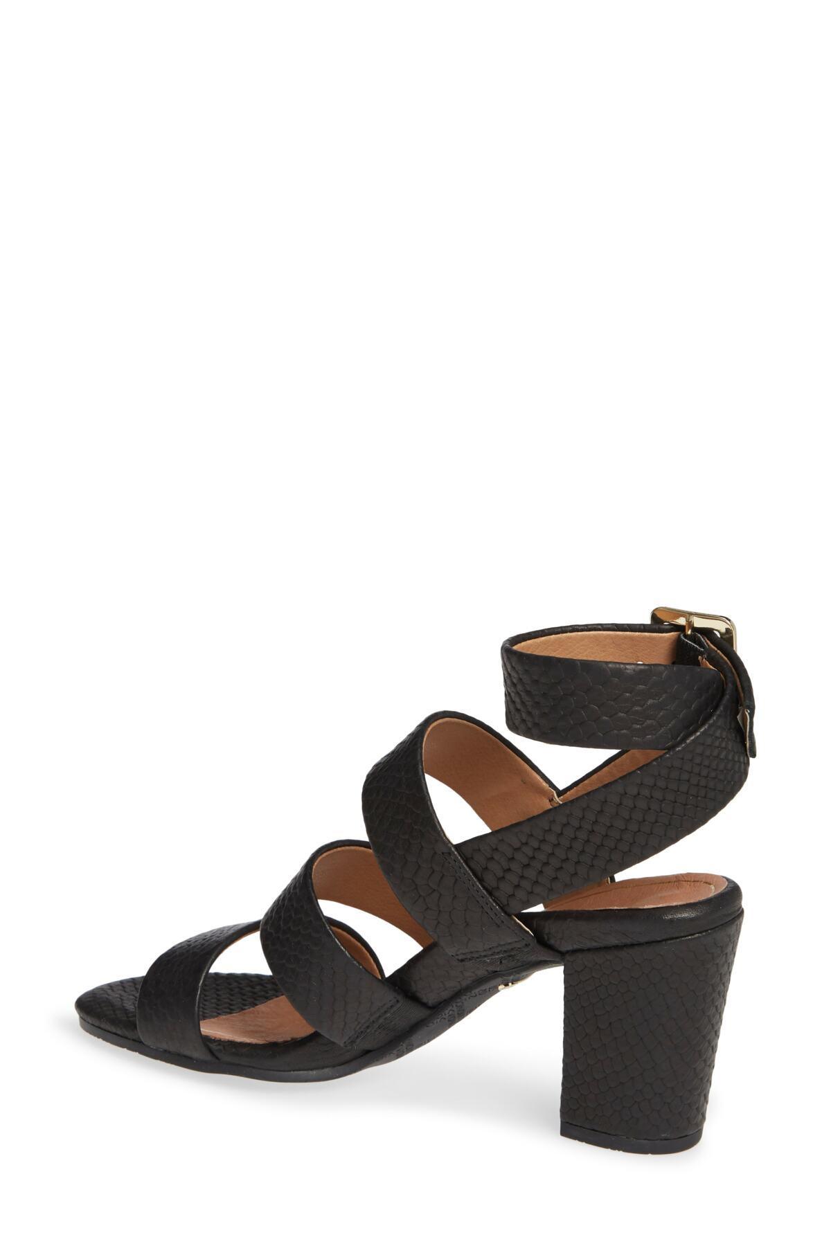 333be25da202 Lyst - Vionic Blaire Block Heel Sandal (women) in Black
