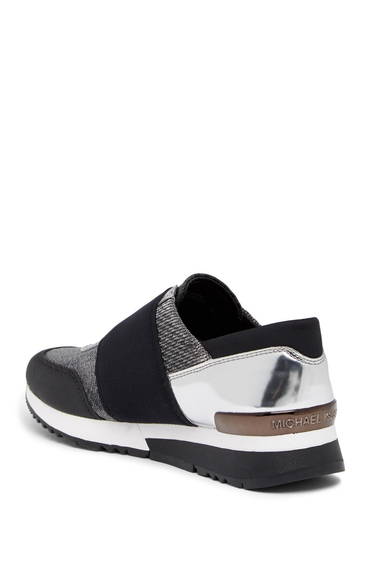 bc57f054aa68 Lyst - MICHAEL Michael Kors Mk Trainer Sneaker in Black