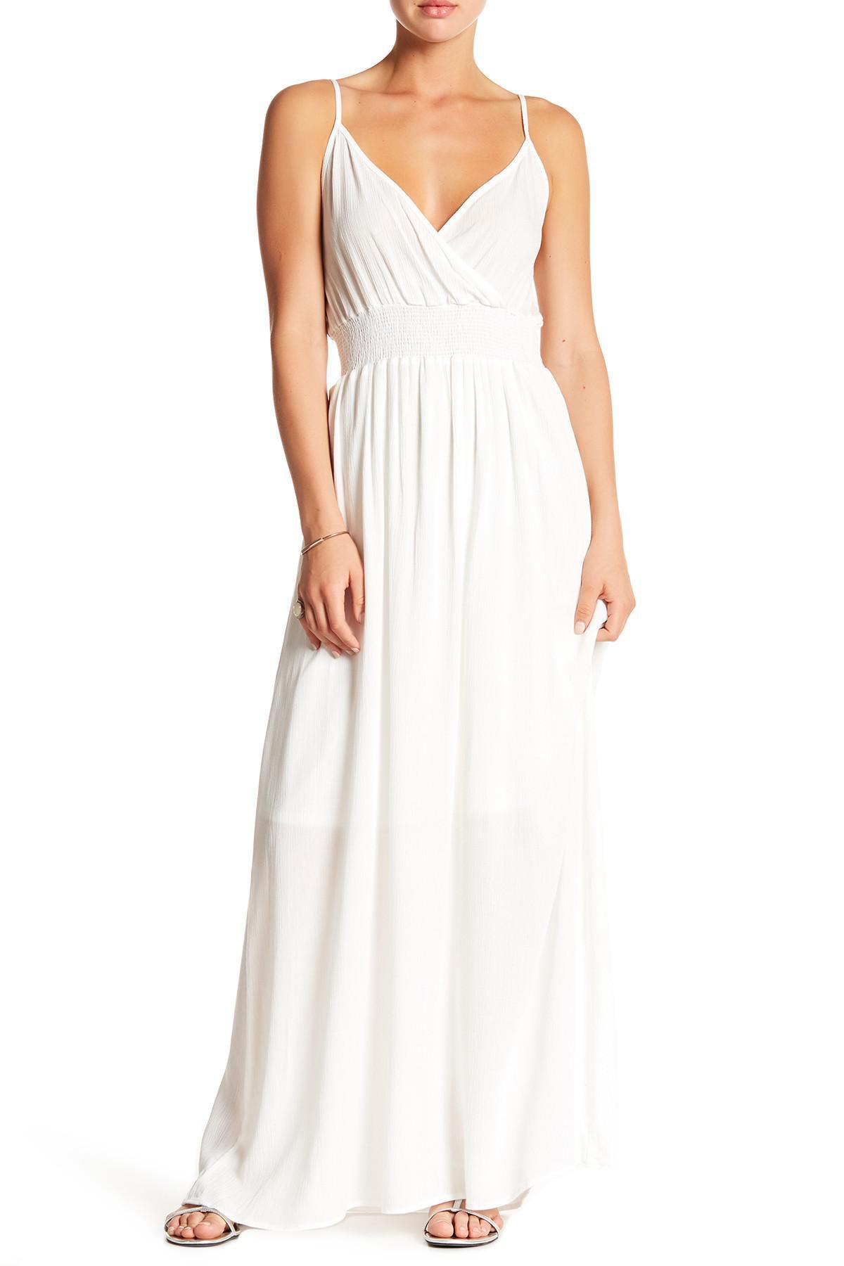 781ed74ce6a West Kei Gauze Maxi Dress in White - Lyst
