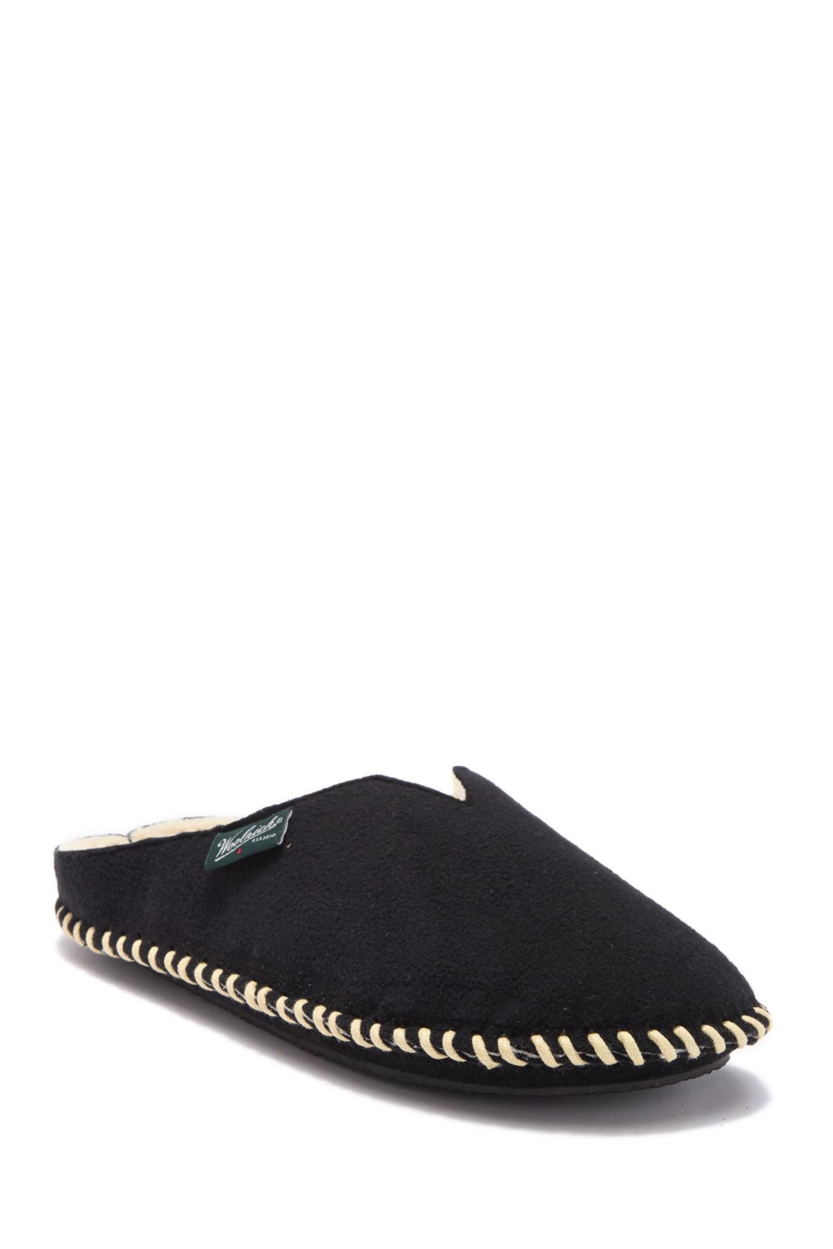 c46ab1d9b Lyst - Woolrich Mill Scuff Faux Shearling Lined Slipper (women) in ...