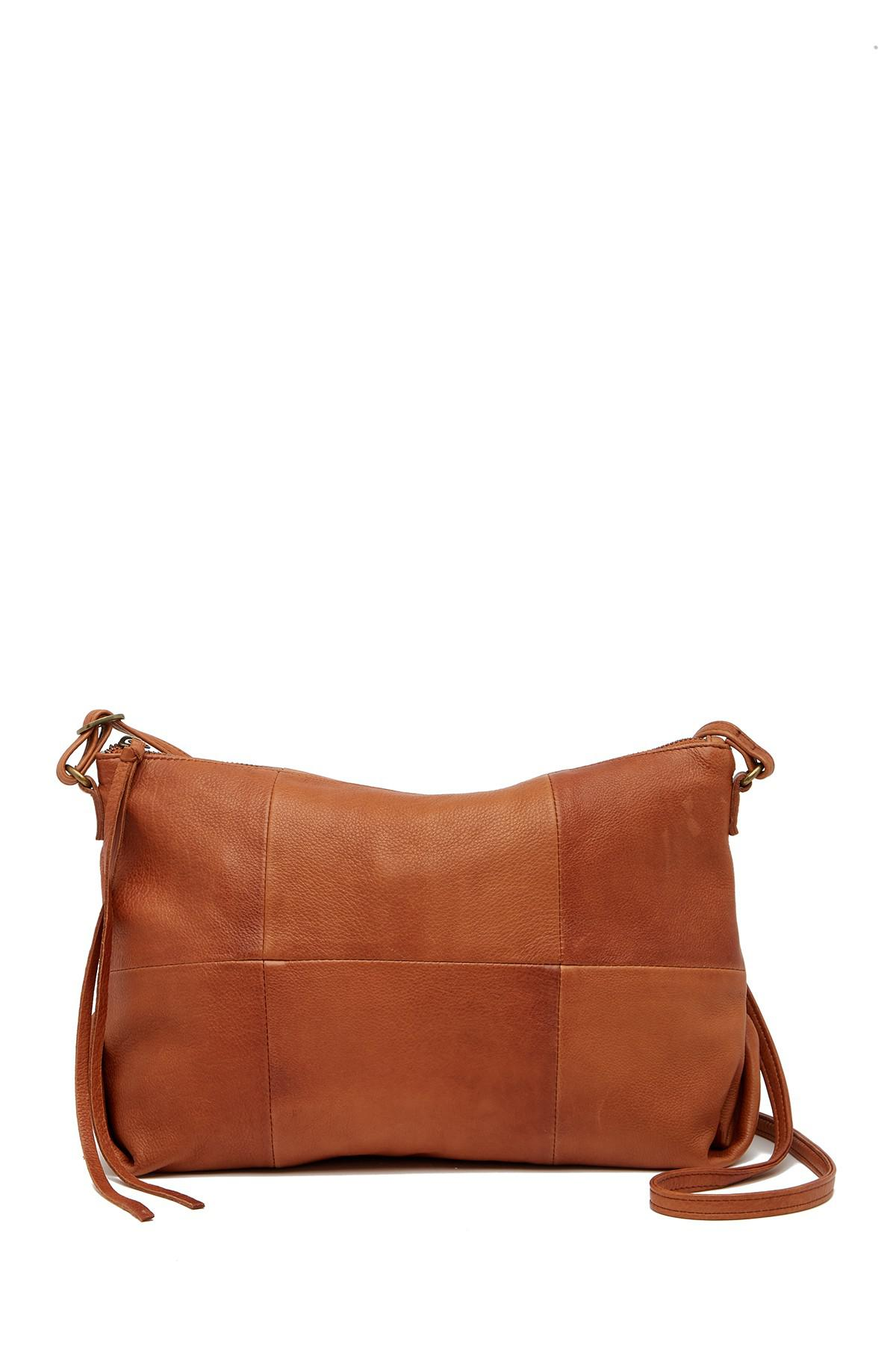 c191e647e Day & Mood Molly Leather Crossbody Bag in Brown - Lyst