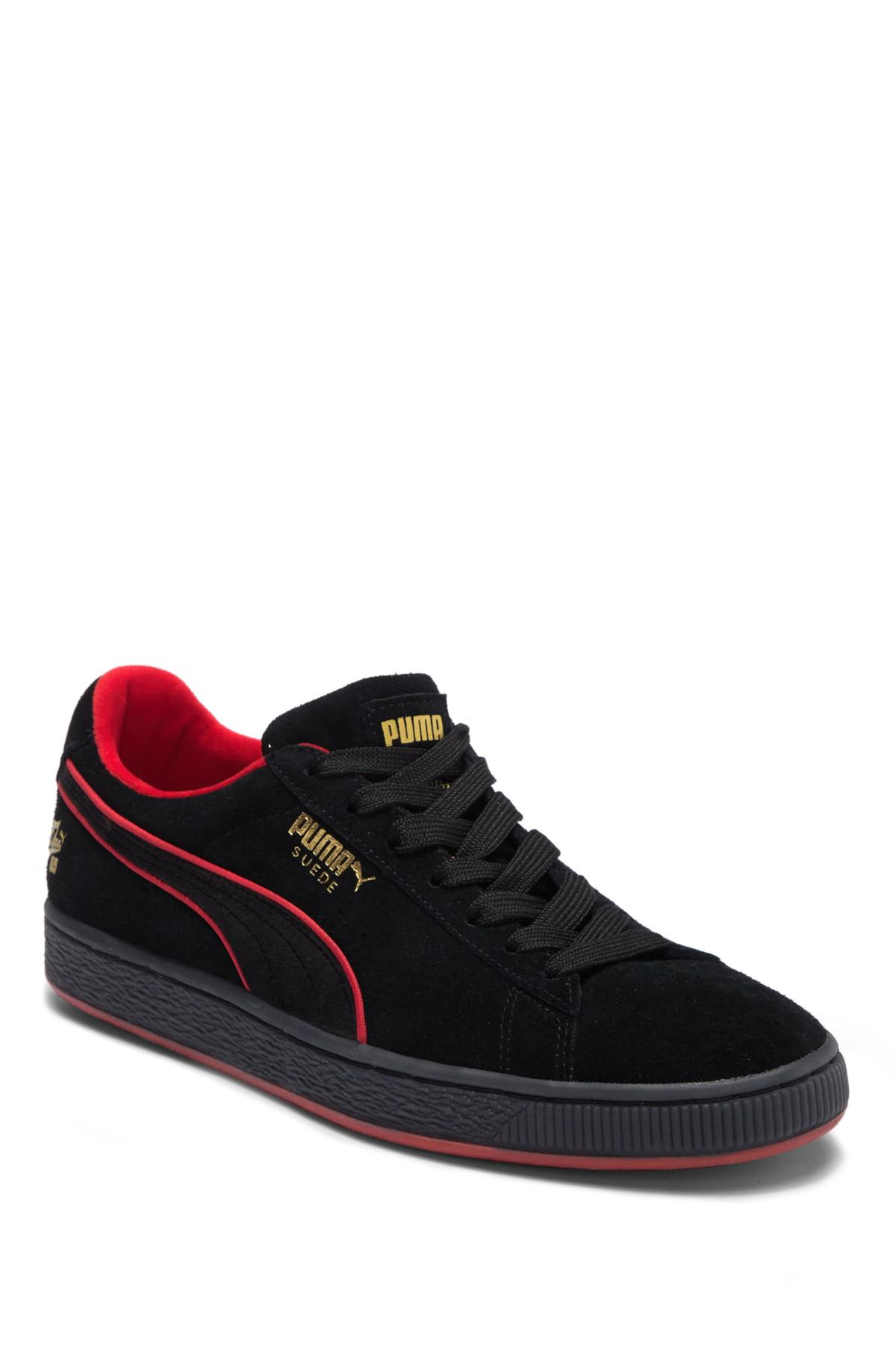 3508ff01598659 Lyst - PUMA Classic X Fubu Suede Sneaker in Black for Men