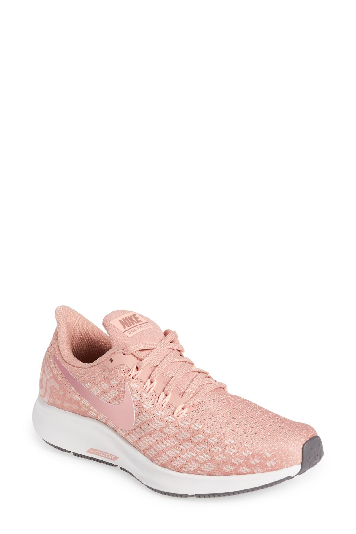 6e344960aa9c Lyst - Nike Air Zoom Pegasus 35 W Women s Running Trainers In Pink ...