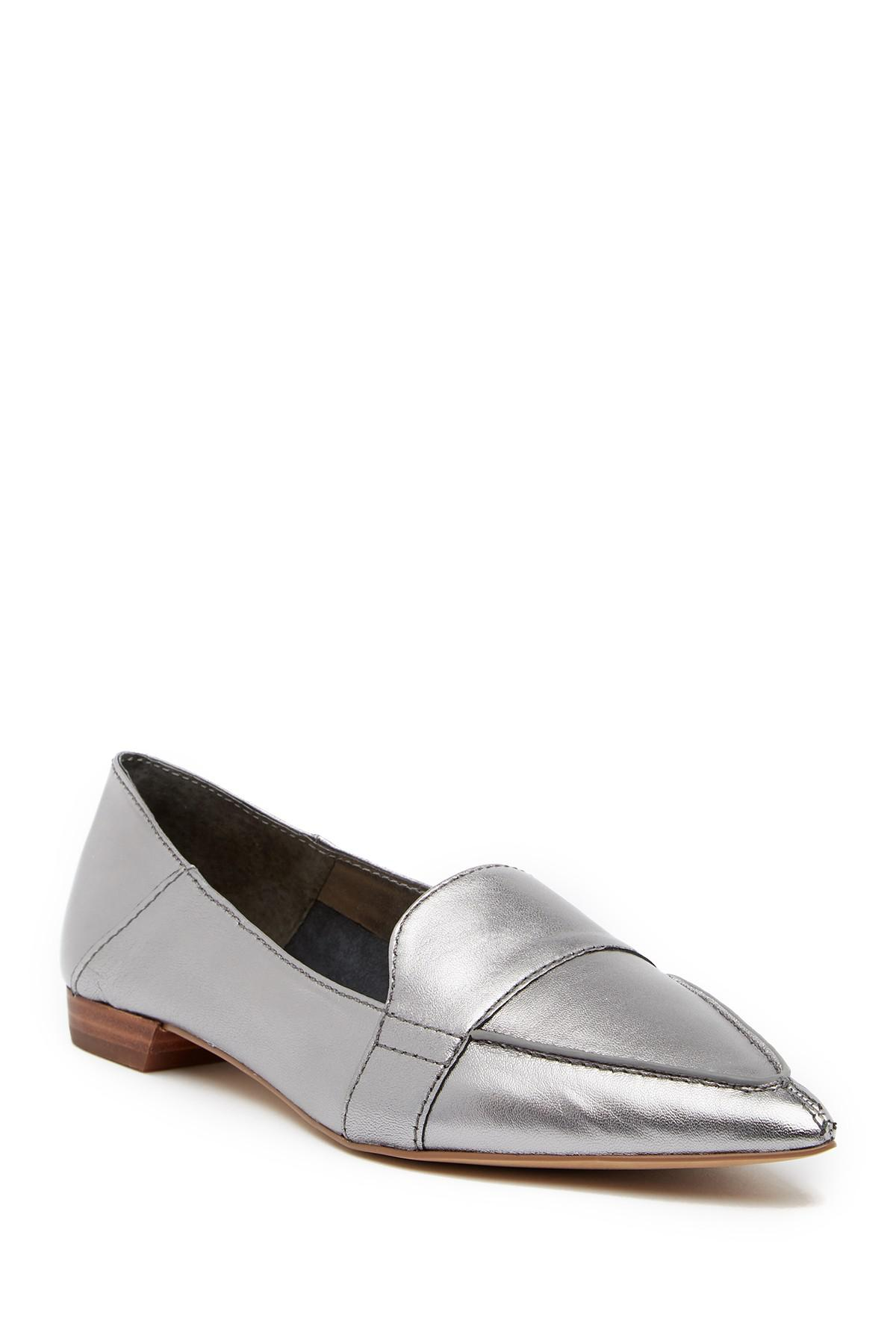 bbcb43afa4a Vince Camuto. Women s Maita Pointed Toe Leather Loafer